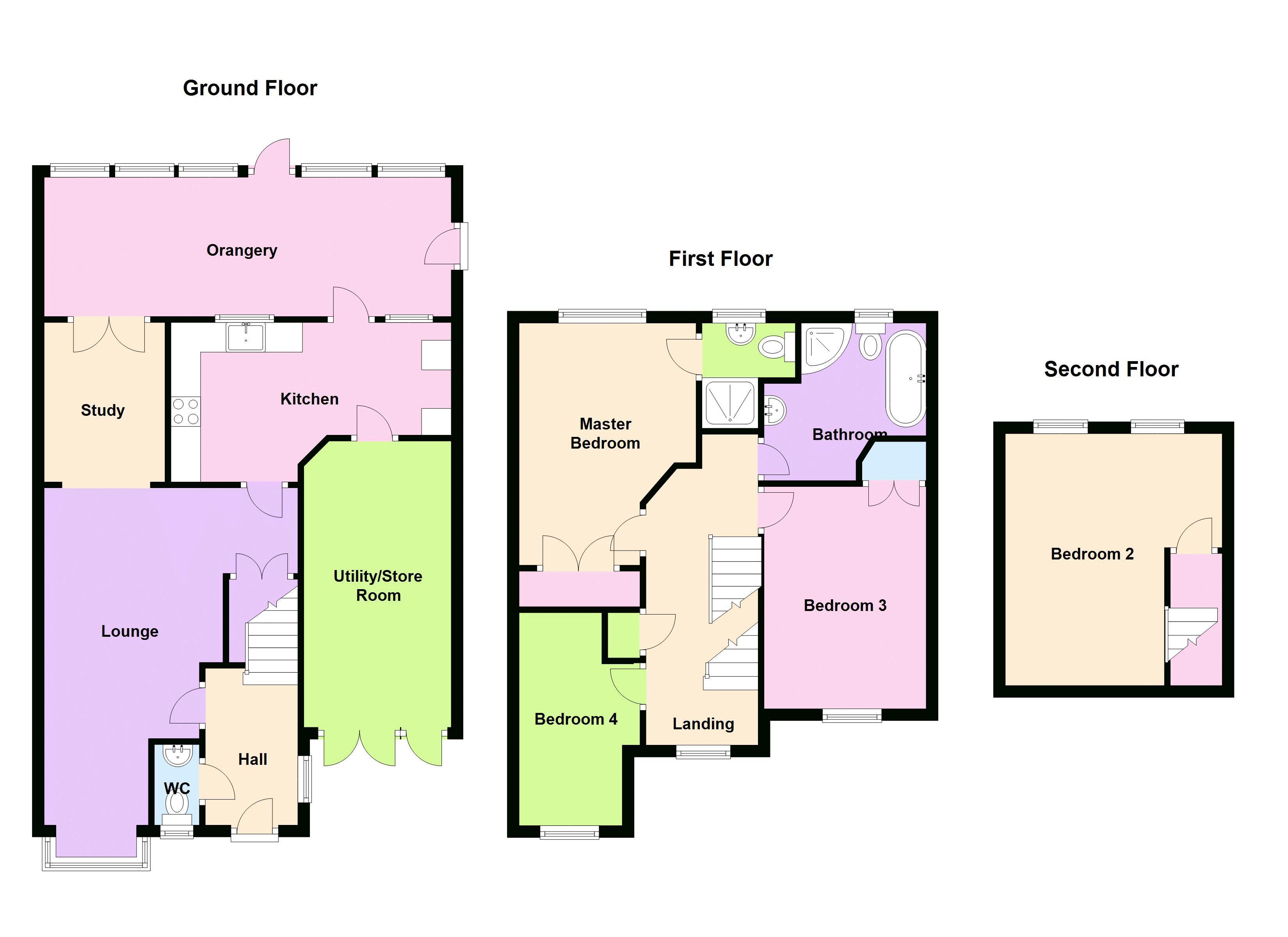Yeoman Way Trowbridge Ba14 4 Bedroom Semi Detached House