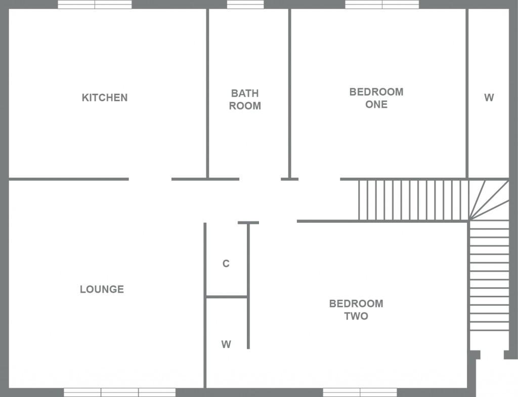 7 netherton oval lennoxtown glasgow g66 2 bedroom flat for Cuisine kitchen lennoxtown