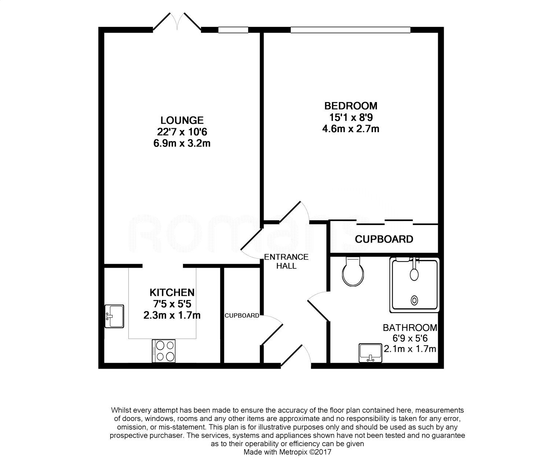 Sandhurst Apartments: Mckernan Court, High Street, Sandhurst GU47, 1 Bedroom