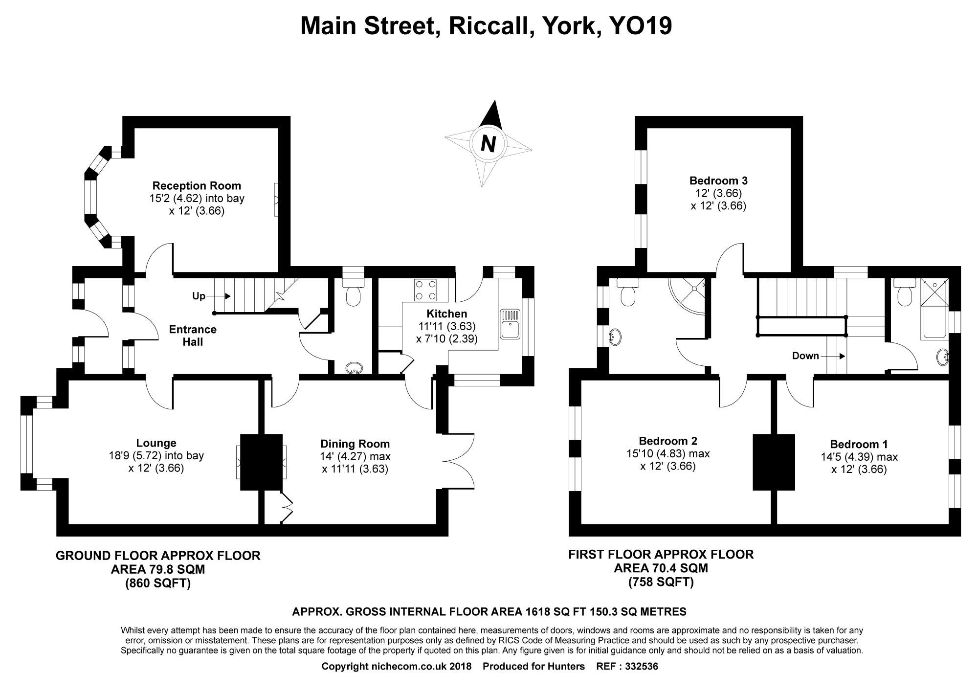 4 Bedrooms Detached house for sale in Main Street, Riccall, York YO19
