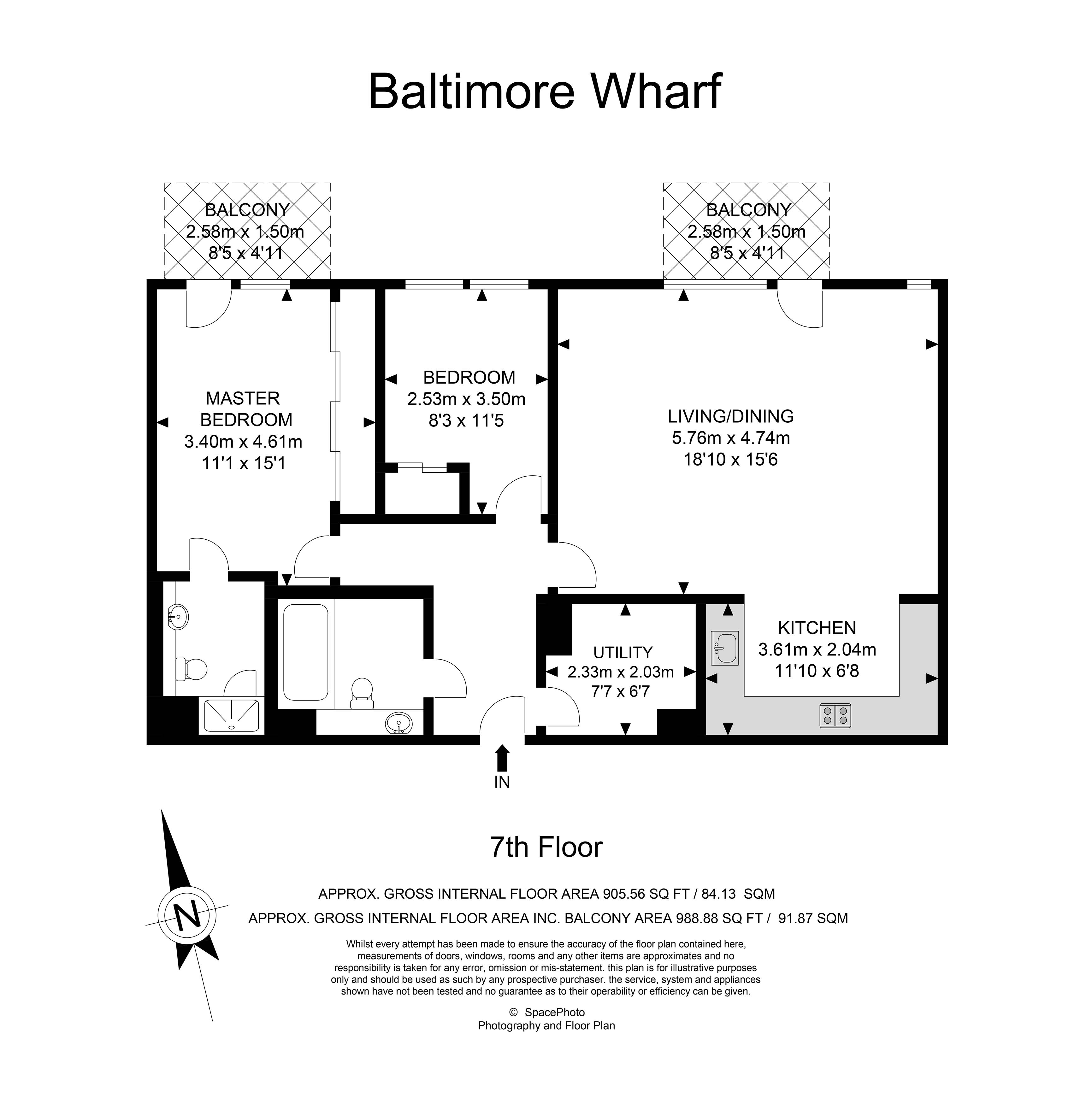 2 Bedroom Flat For Sale In Baltimore Wharf Canary Wharf E14 London