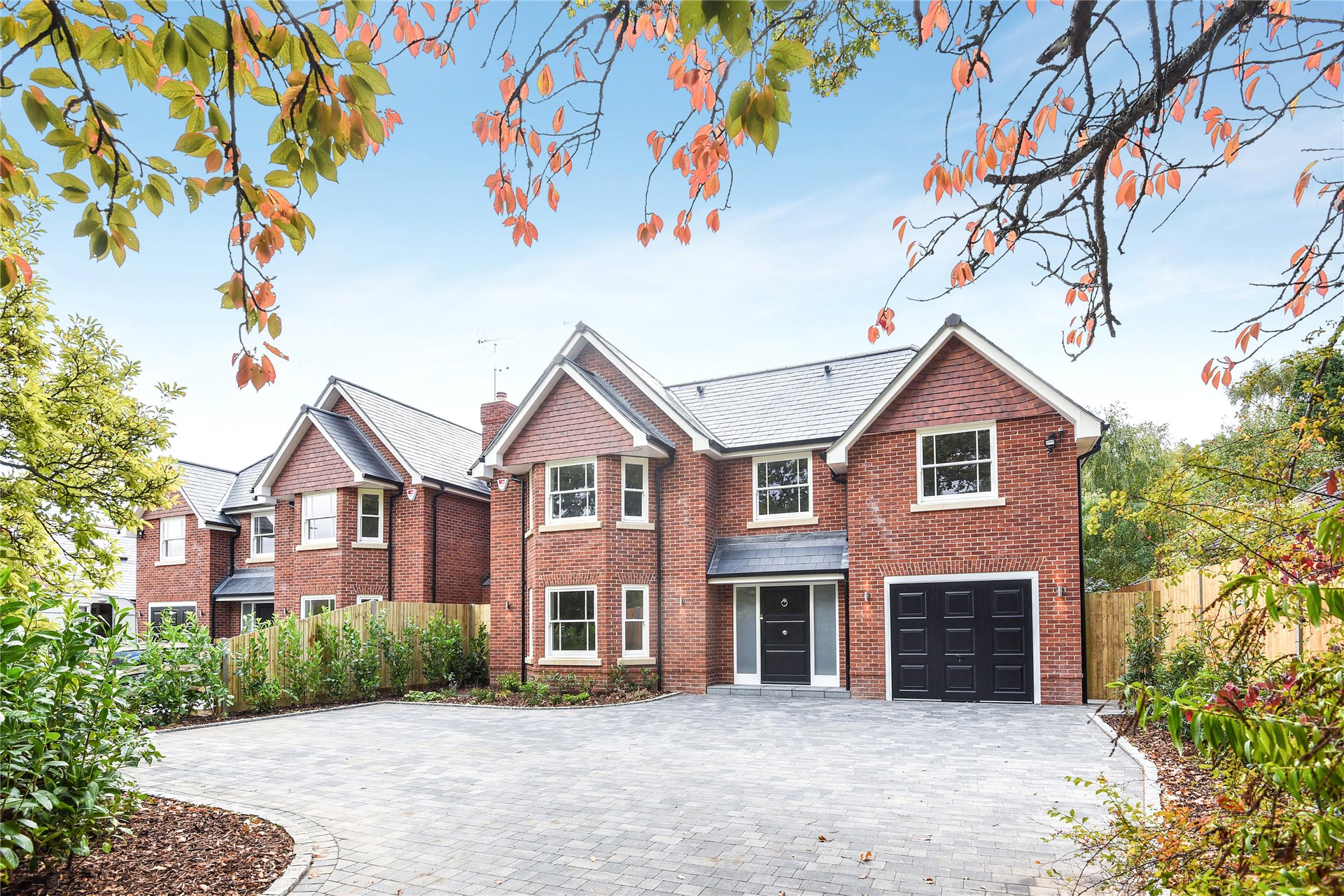 Nine Mile Ride Finchampstead Wokingham Berkshire Rg40 5 Bedroom Detached Full Brick Brand New Home On Wiring House To Garage For Sale 48719113 Primelocation