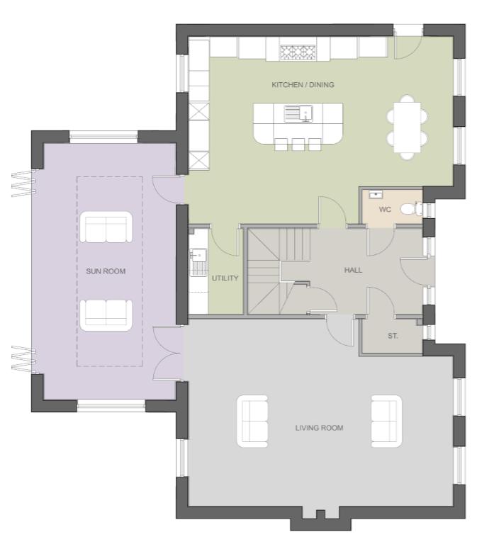 The Avenue, Medburn, Ponteland NE20, 4 Bedroom Detached House For Sale - 45625326