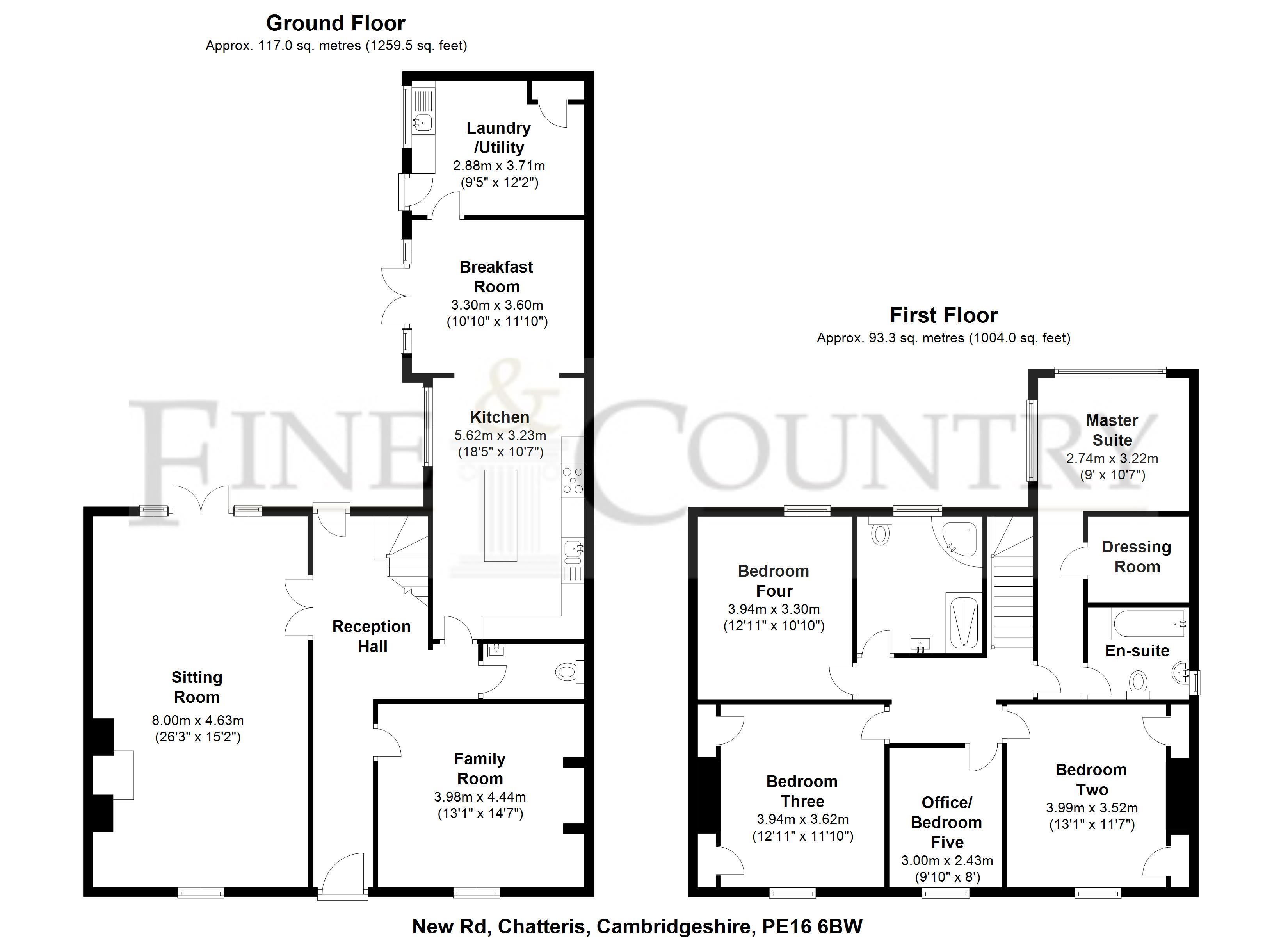 new road  chatteris  cambridgeshire pe16  5 bedroom