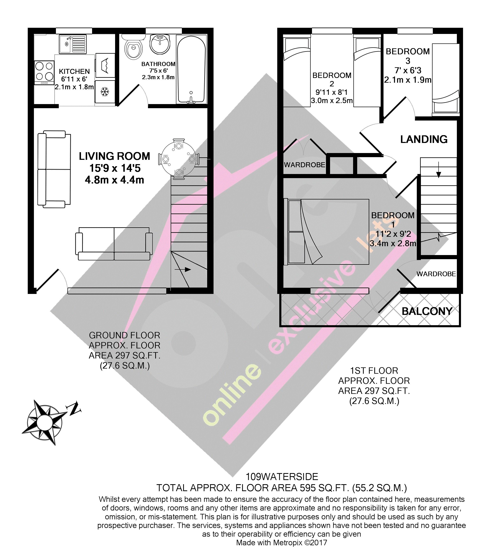 Waterside Holiday Village Corton Lowestoft Nr32 3 Bedroom Property For Sale 42613091