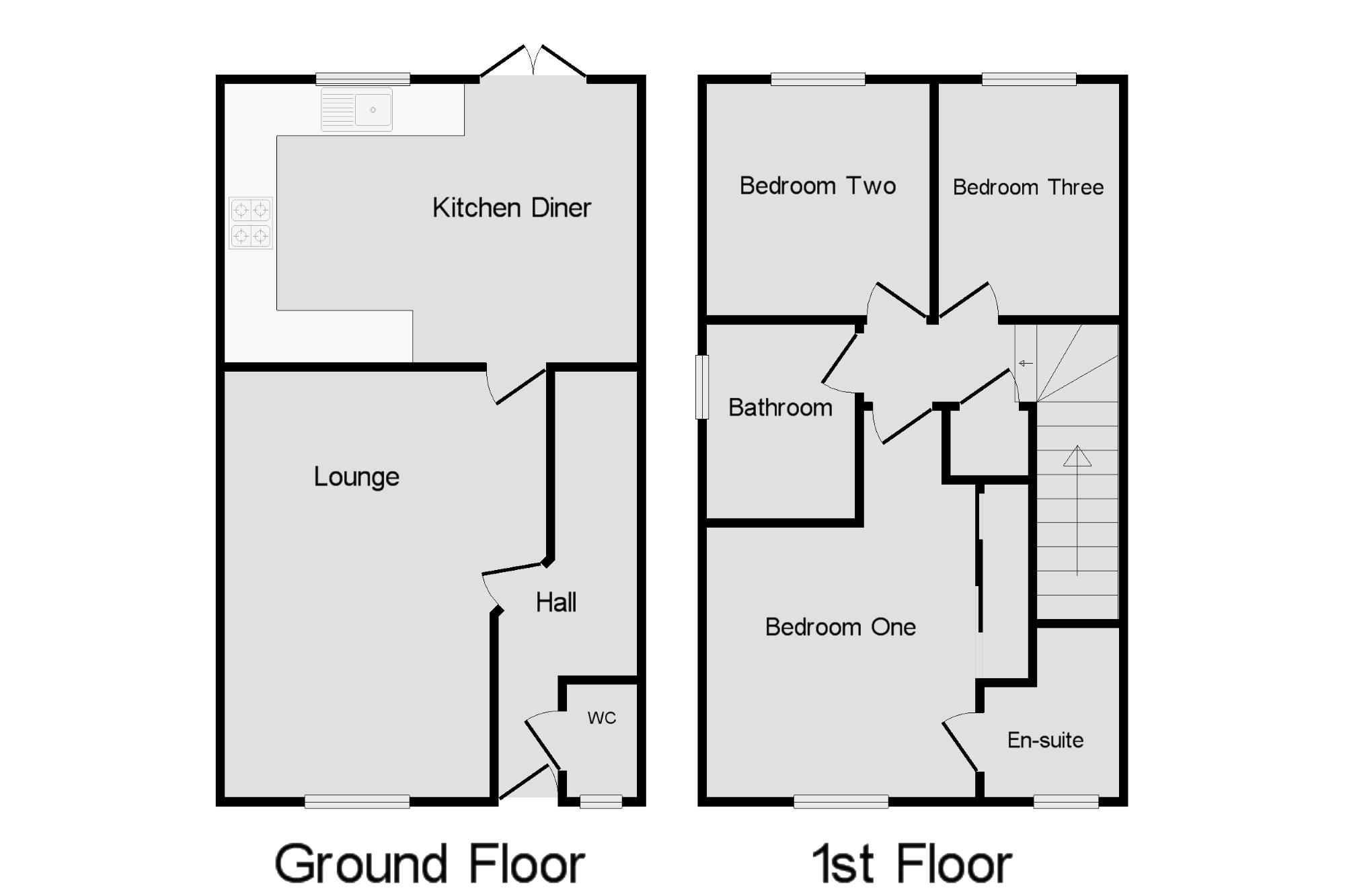 Saltram Meadow Plymstock Devon Pl9 3 Bedroom Terraced