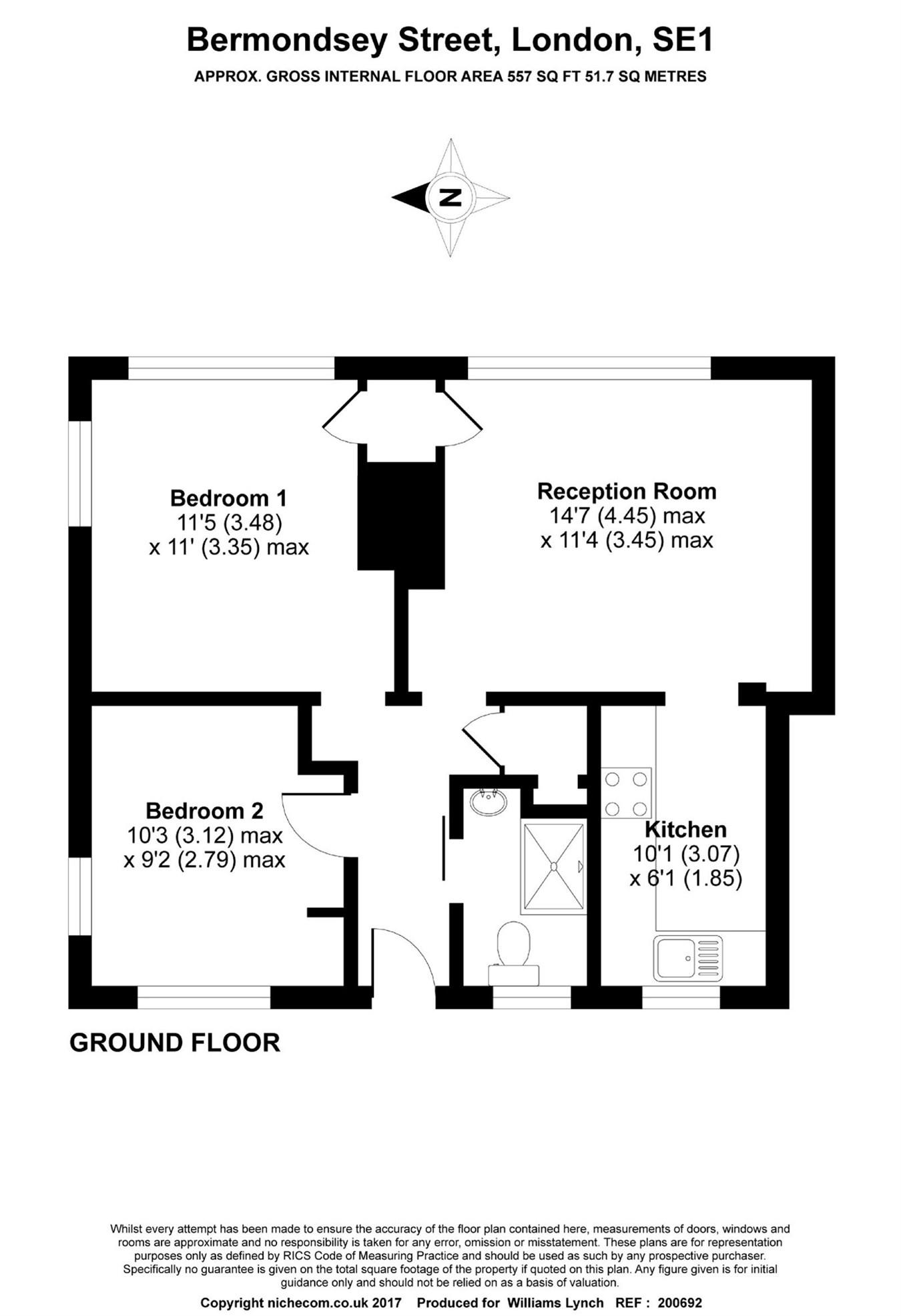 2 Bedrooms Flat to rent in Bermondsey Street, London SE1