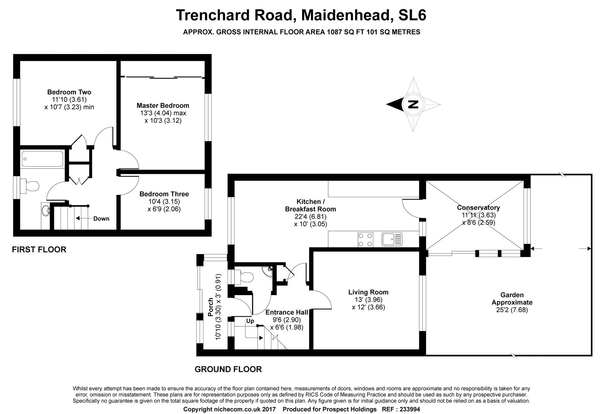 3 Bedrooms End terrace house for sale in Trenchard Road, Holyport, Maidenhead, Berkshire SL6