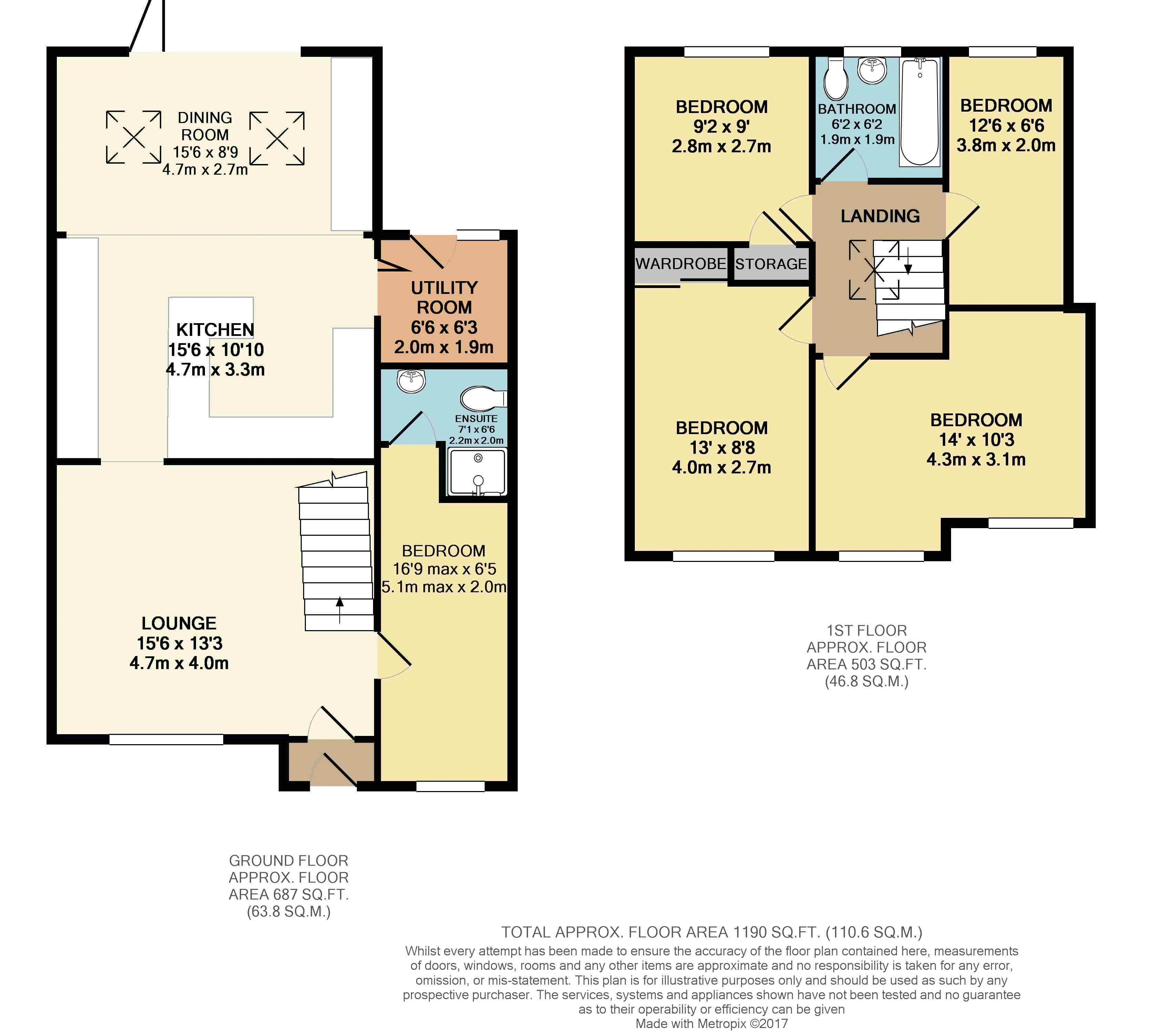 Ashurst Close Crayford Dartford DA1 5 Bedroom Semi