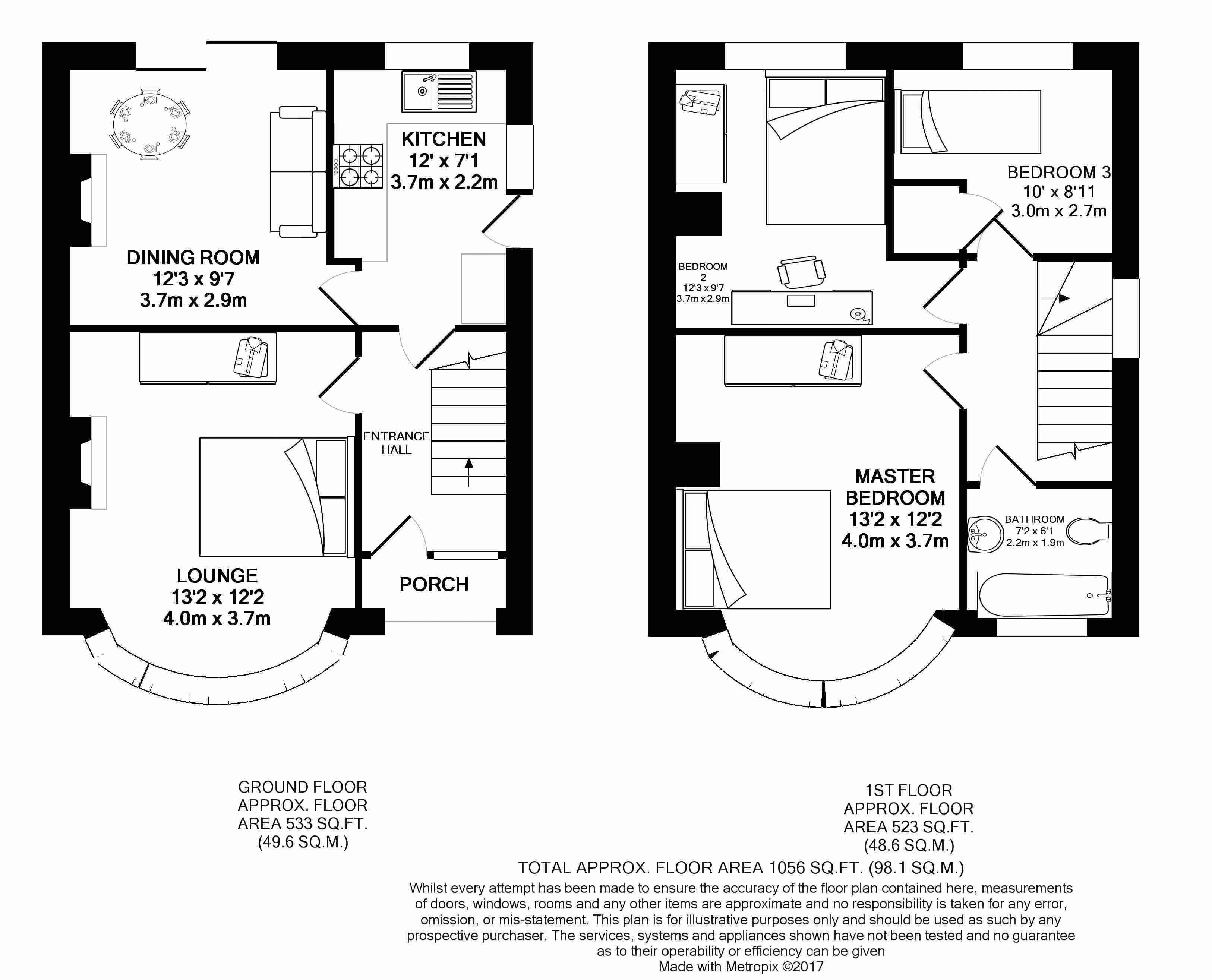Eaton Place Eaton Green Road Luton Lu2 3 Bedroom Semi