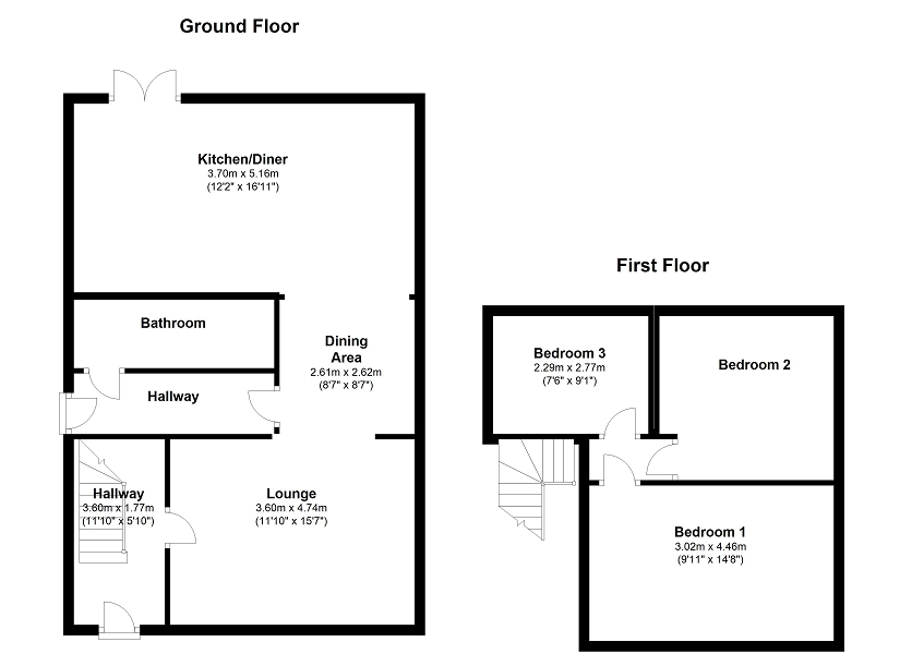33 colbren square  gwaun cae gurwen  ammanford  carmarthenshire sa18  3 bedroom semi