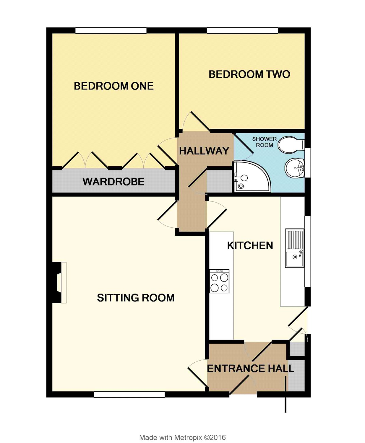 Bedroom detached house for sale in flushing falmouth cornwall - Holman Avenue Camborne Cornwall Tr14 2 Bedroom Semi