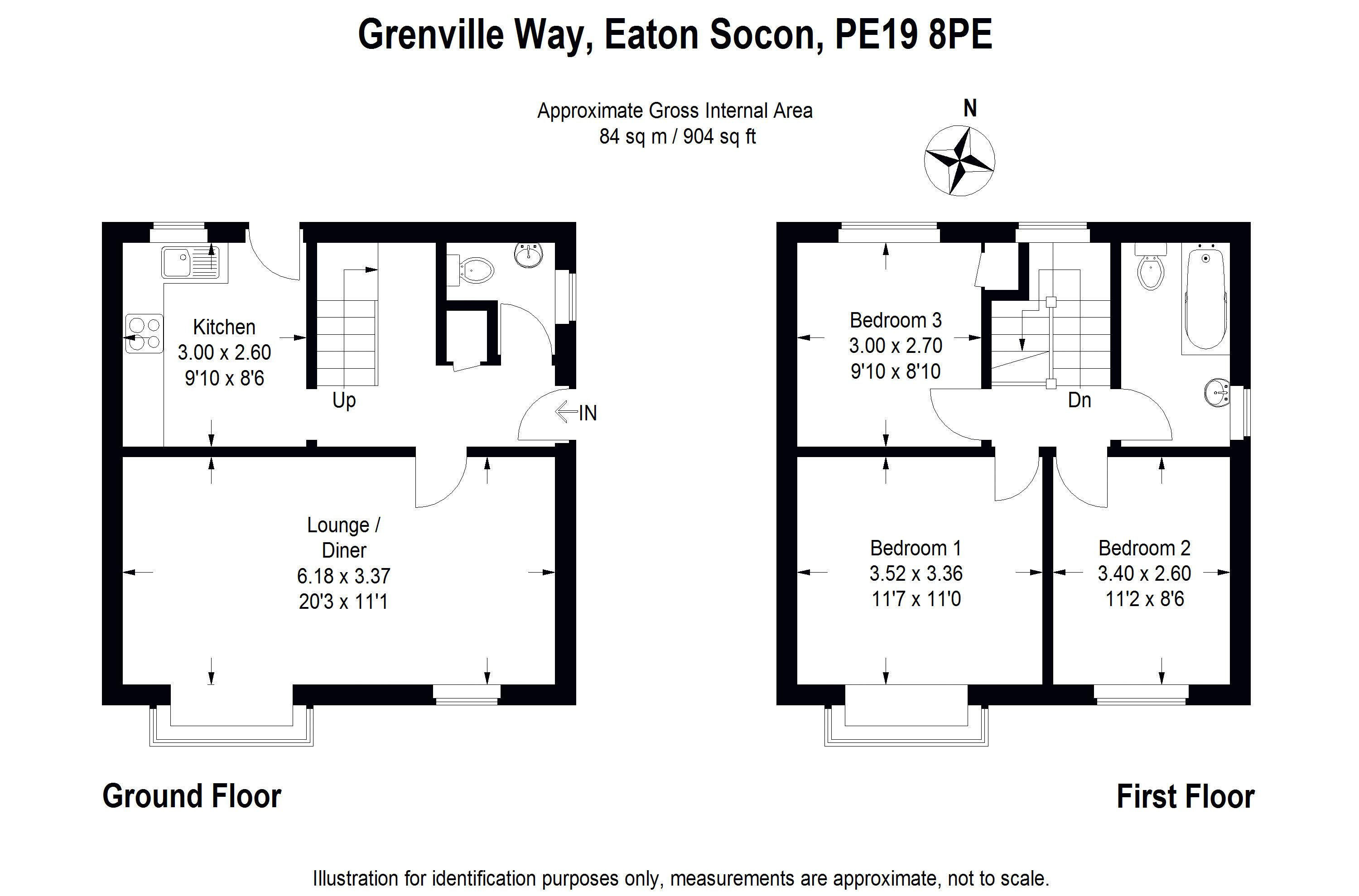 Property For Sale Grenville Way Eaton Socon