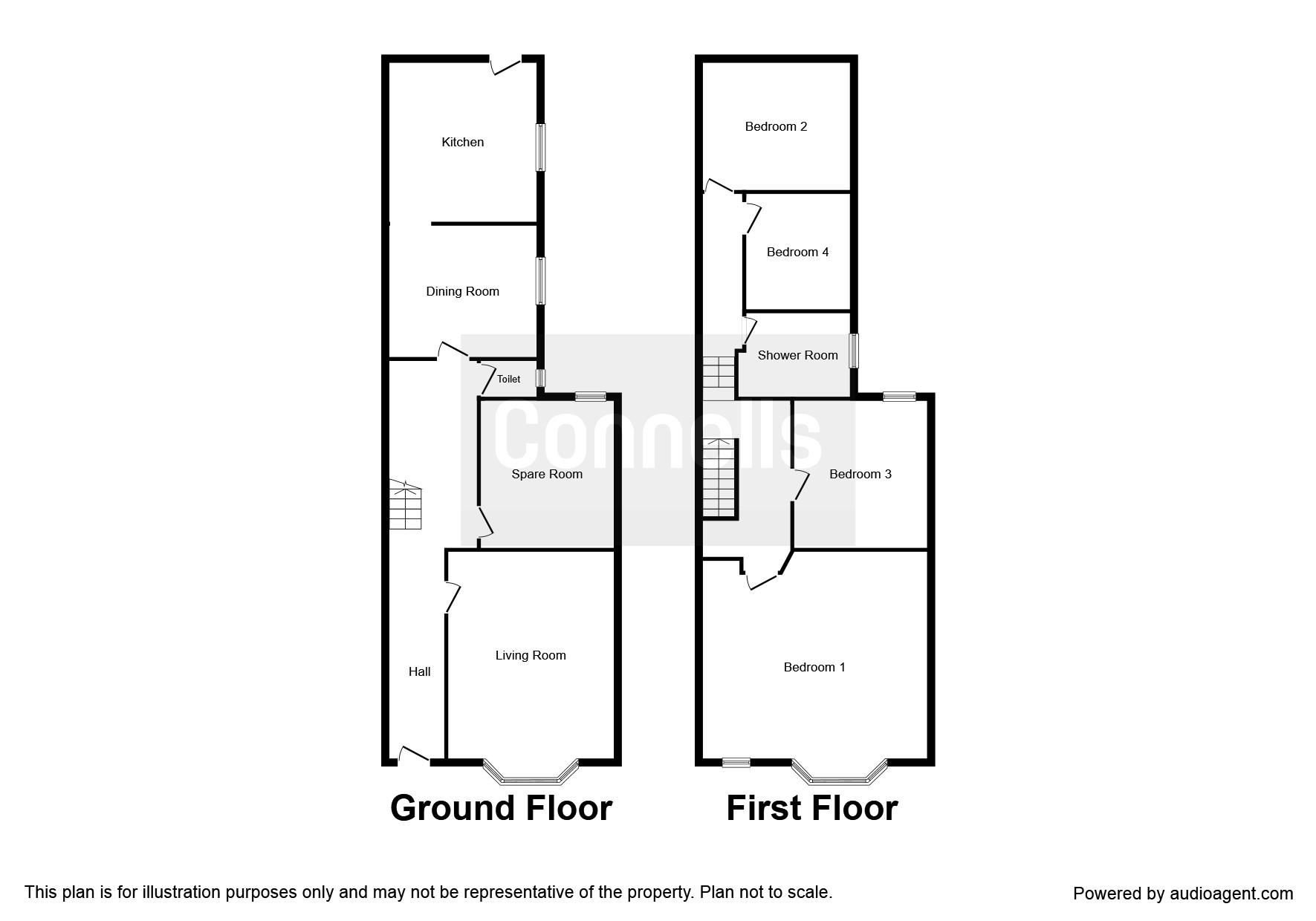 london road luton lu1 4 bedroom semi detached house for sale