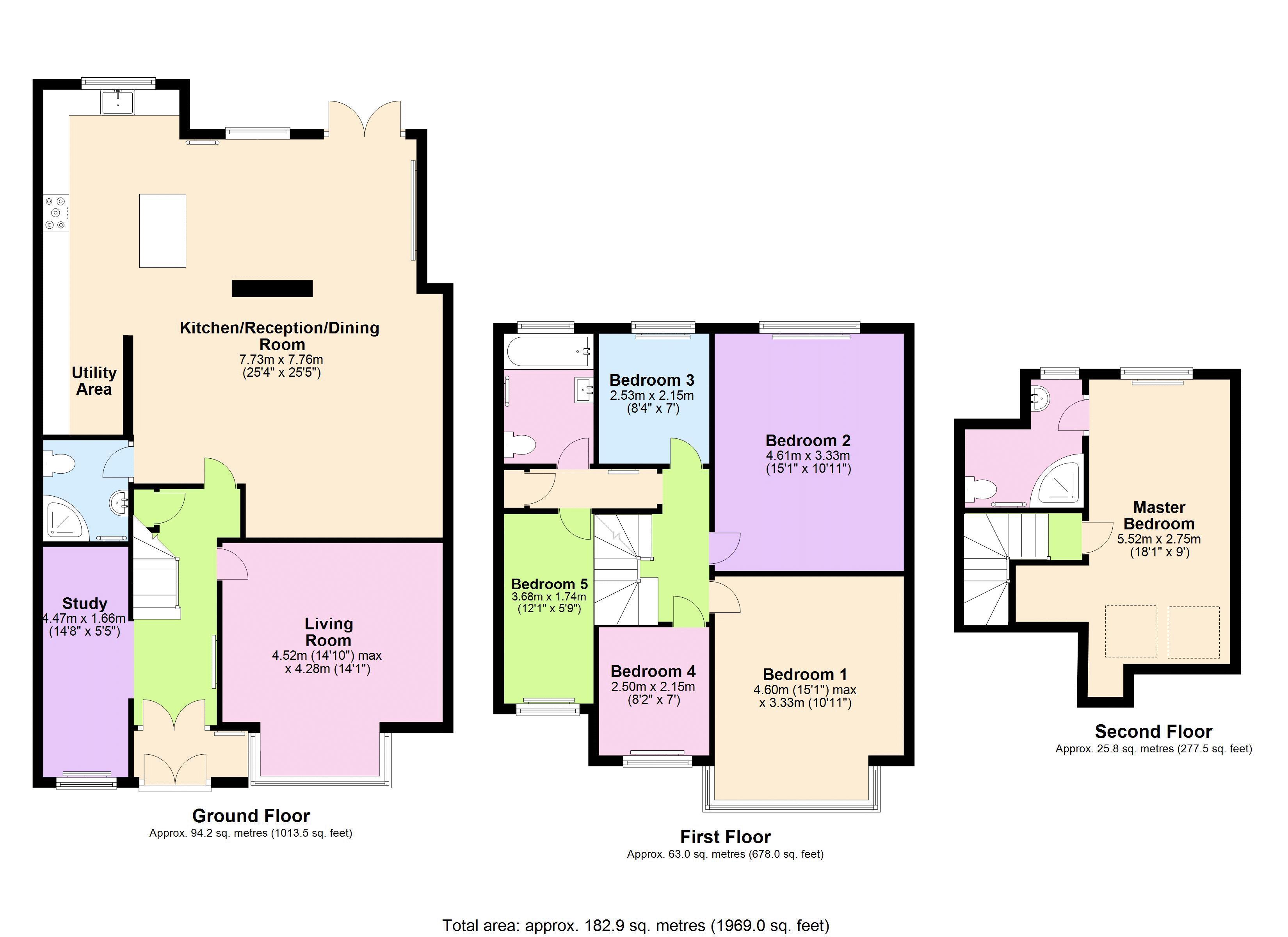 6 Bedrooms Semi-detached house for sale in Moat Drive, Harrow HA1