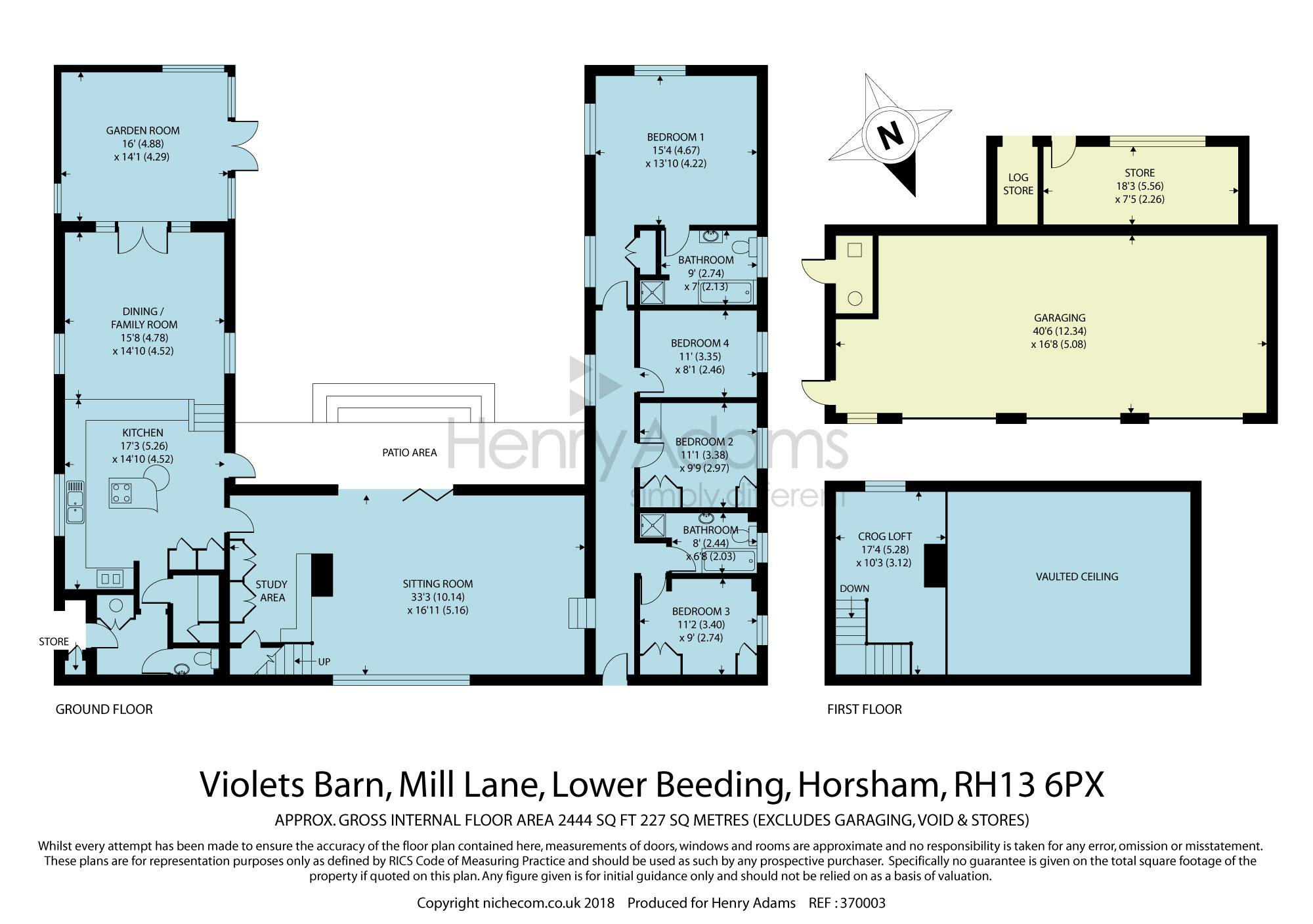 4 bed barn conversion for sale in Mill Lane, Lower Beeding RH13 - Zoopla