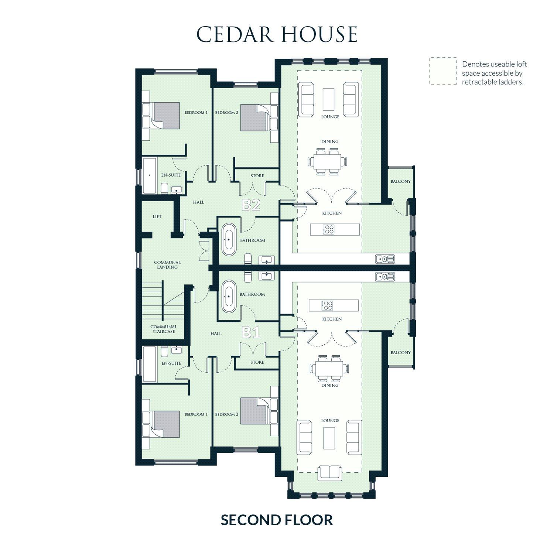 Woodside Homes Floor Plans 2 Bedroom Flat For Sale 43390496 Primelocation