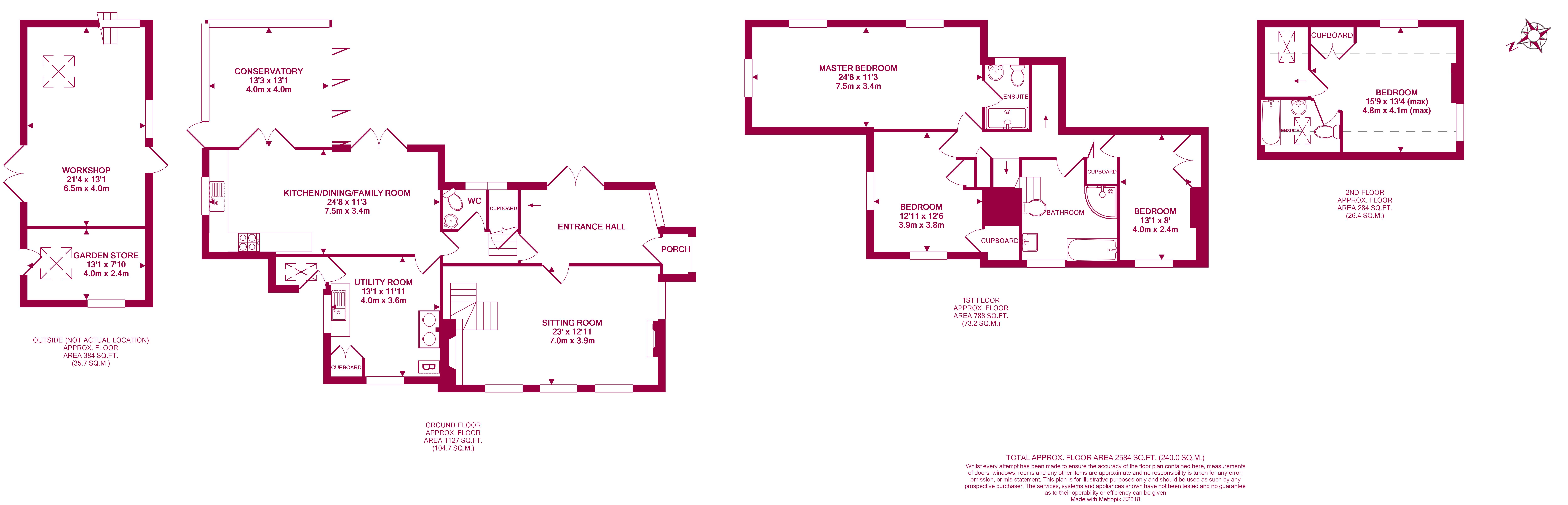Footbridge Winchcombe Cheltenham Gl54 4 Bedroom Detached House Average Cost Of Rewiring A 5 View Original
