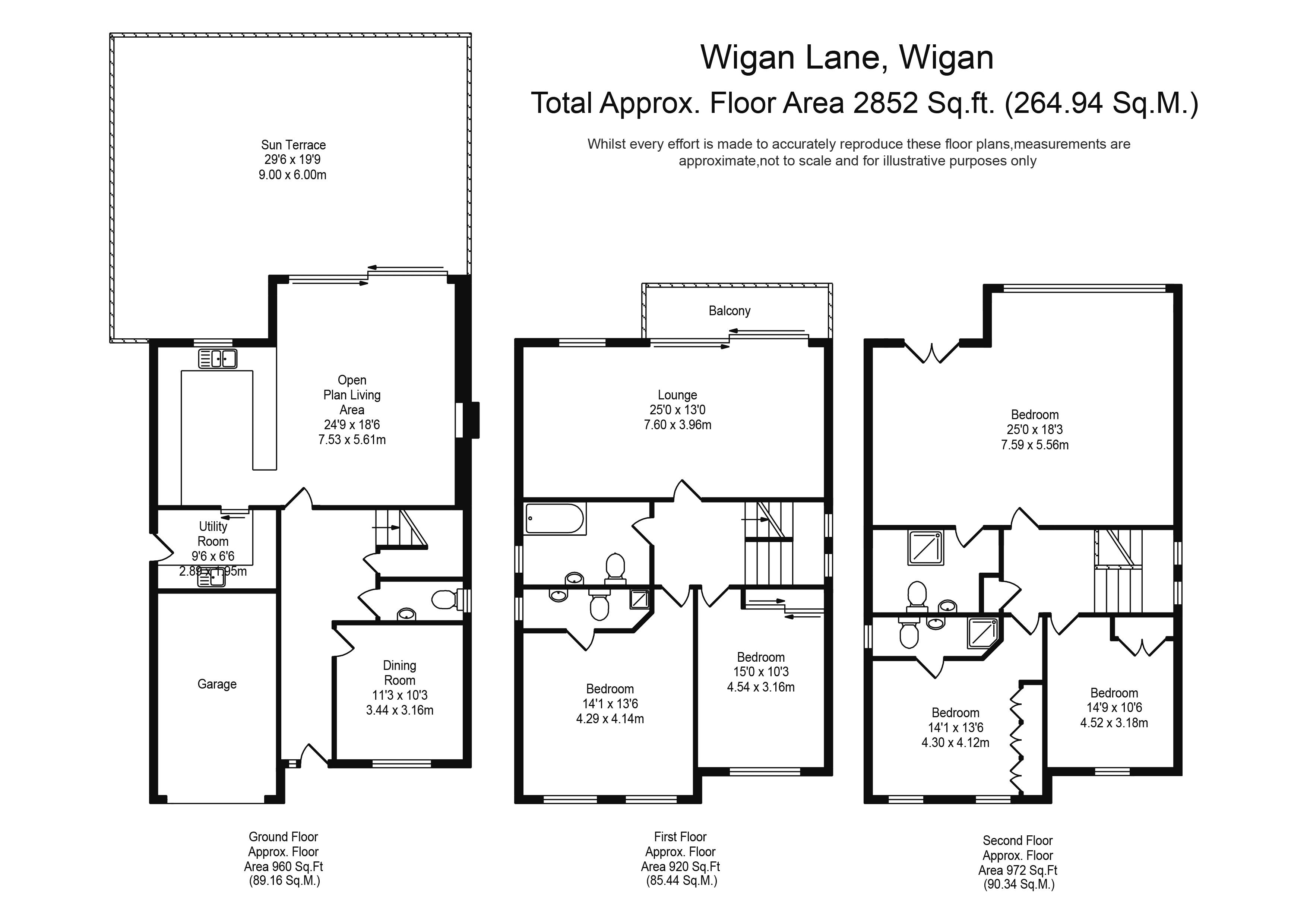 5 Bedrooms Detached house for sale in Wigan Lane, Wigan WN1