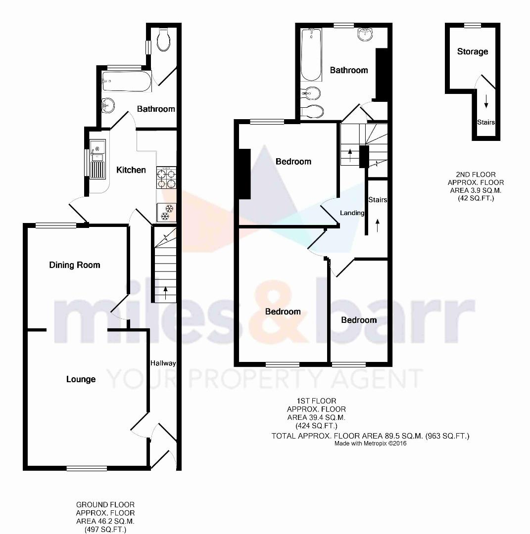 3 bed terraced house for sale in charles street herne bay for 150 charles street floor plans