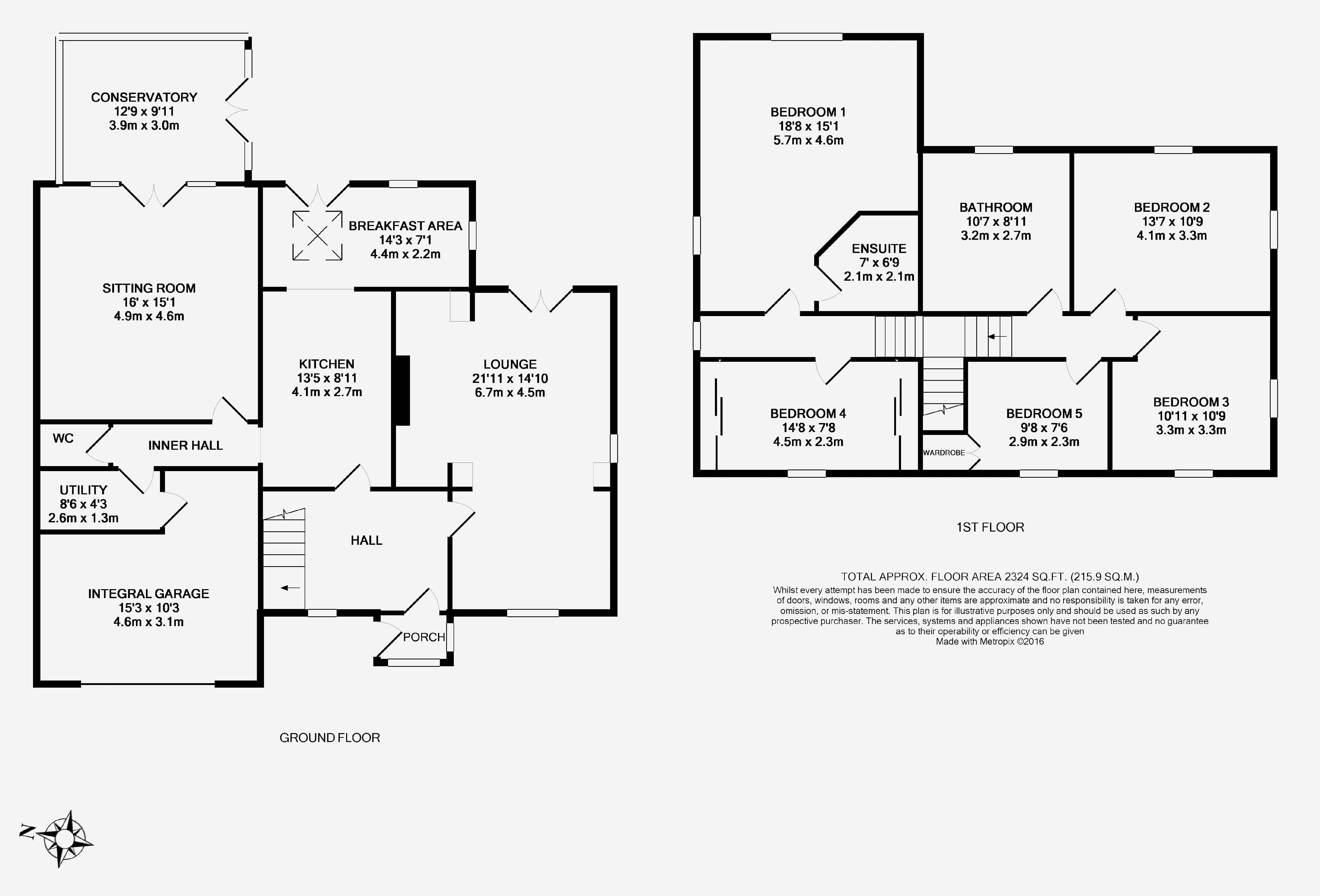 Mill lane heswall wirral ch60 5 bedroom detached house for 16 brookers lane floor plans