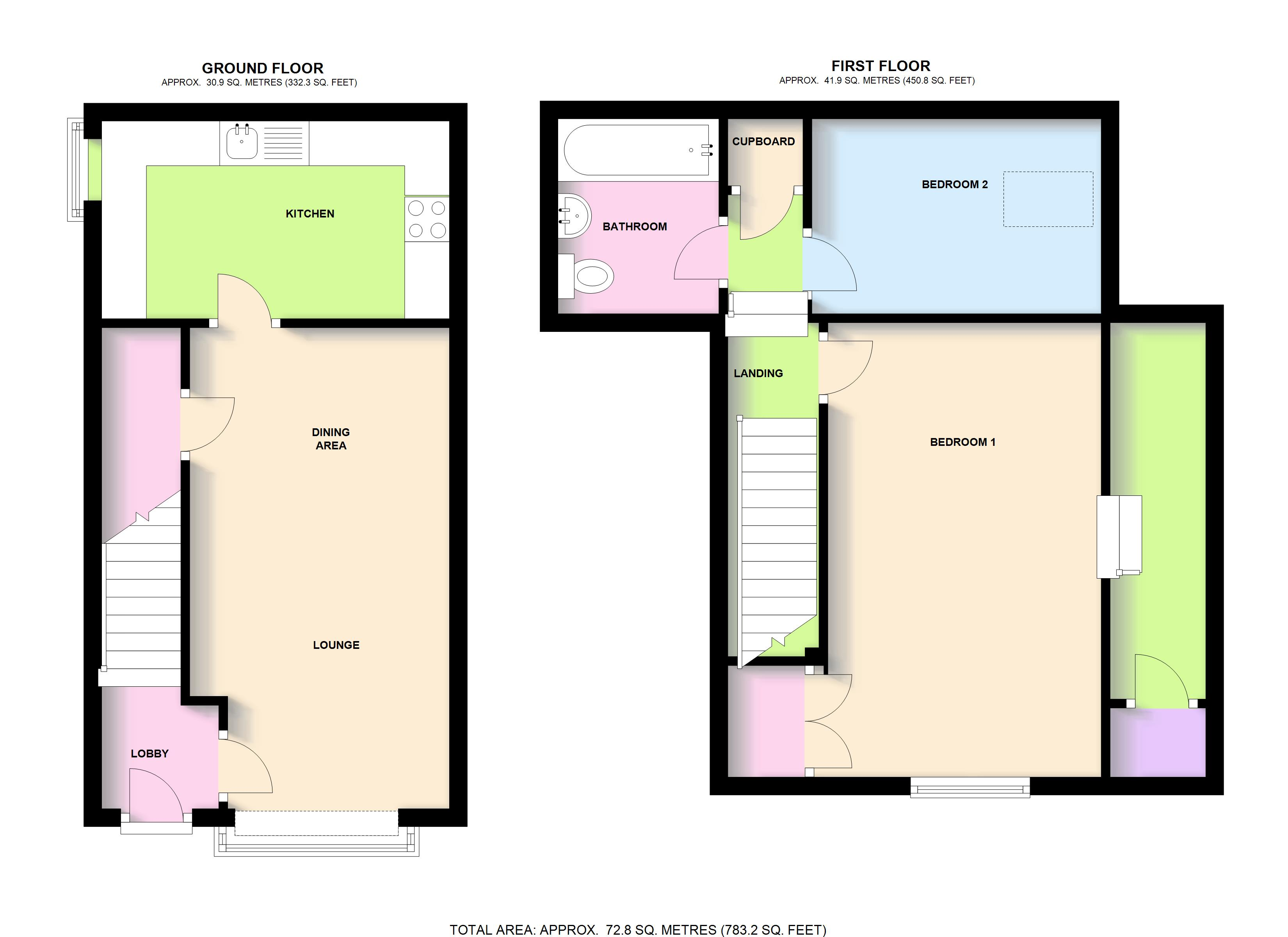 2 bed cottage for sale in house 2 14 15 market place for 15 dunham place floor plans