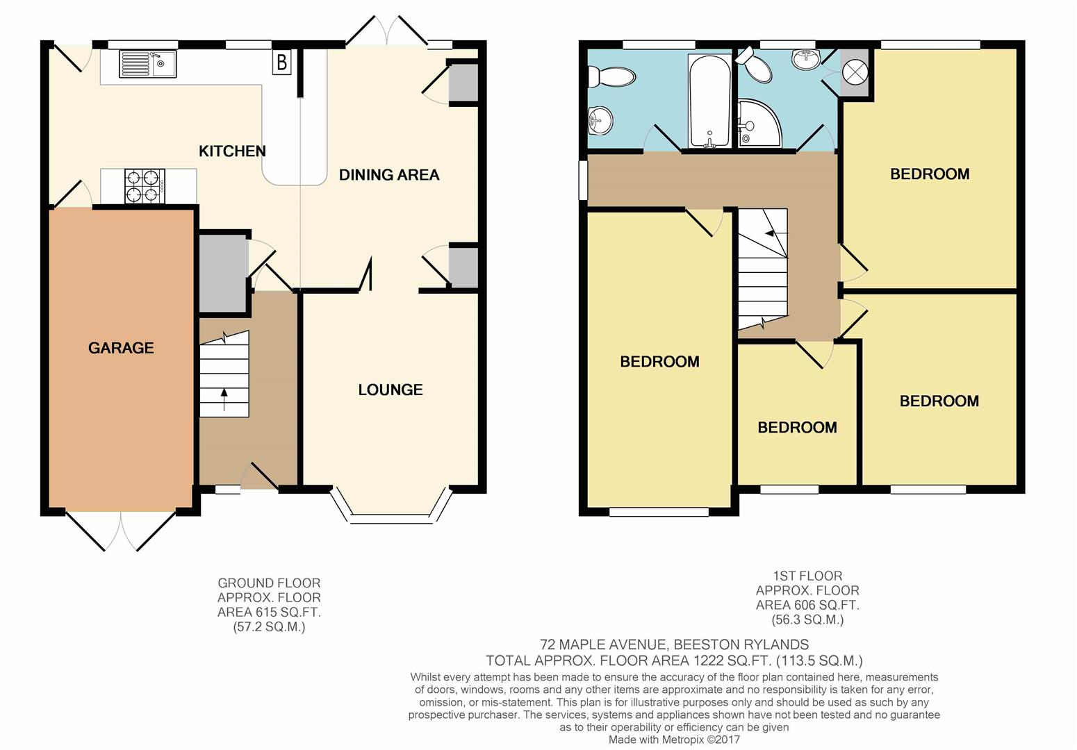 Maple avenue beeston nottingham ng9 4 bedroom semi detached house for sale 44900040 for Food bar beeston