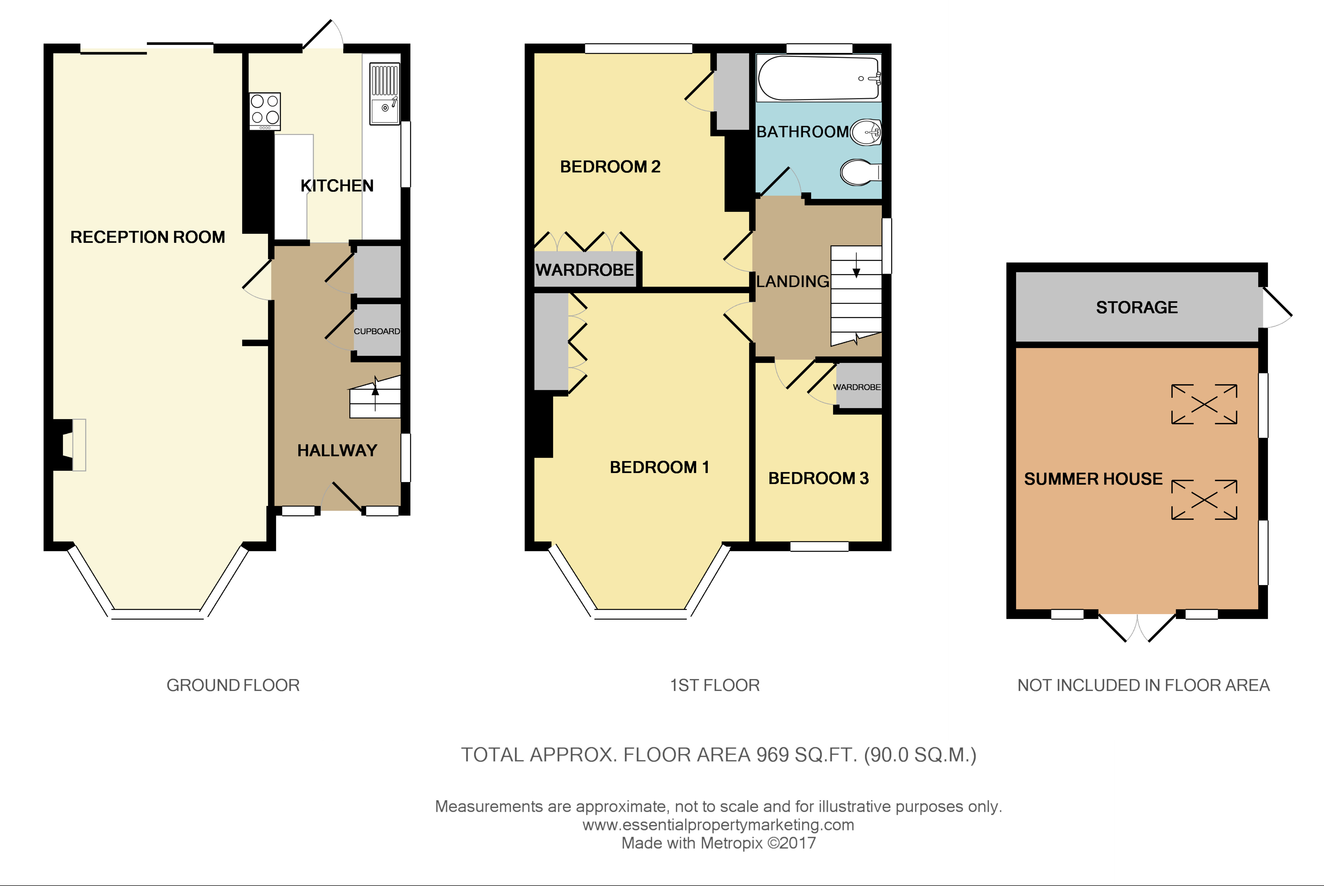 Ruffetts Close South Croydon Surrey Cr2 3 Bedroom Semi