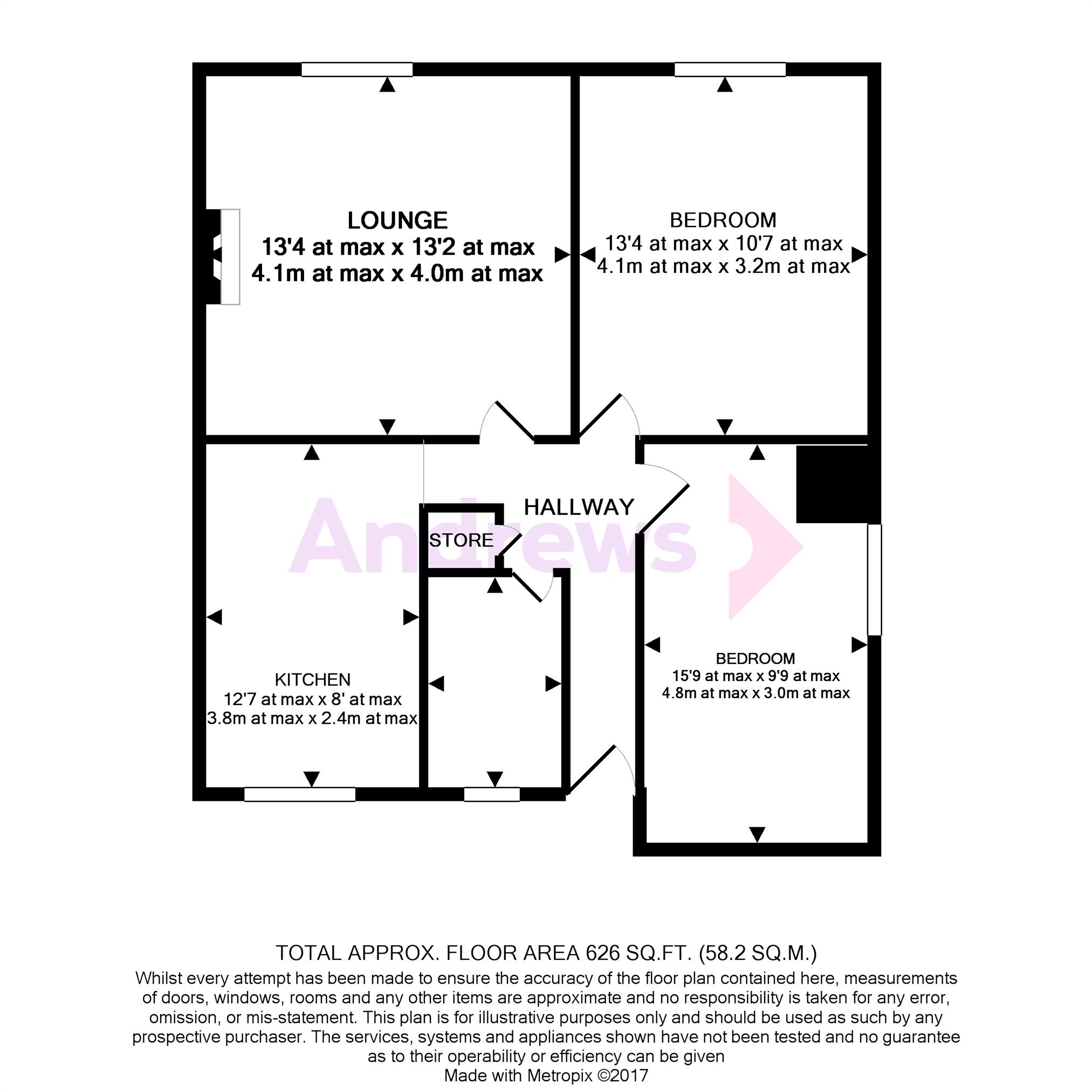 2 bedroom flat for sale 45736876 primelocation for 11 brunel court floor plans