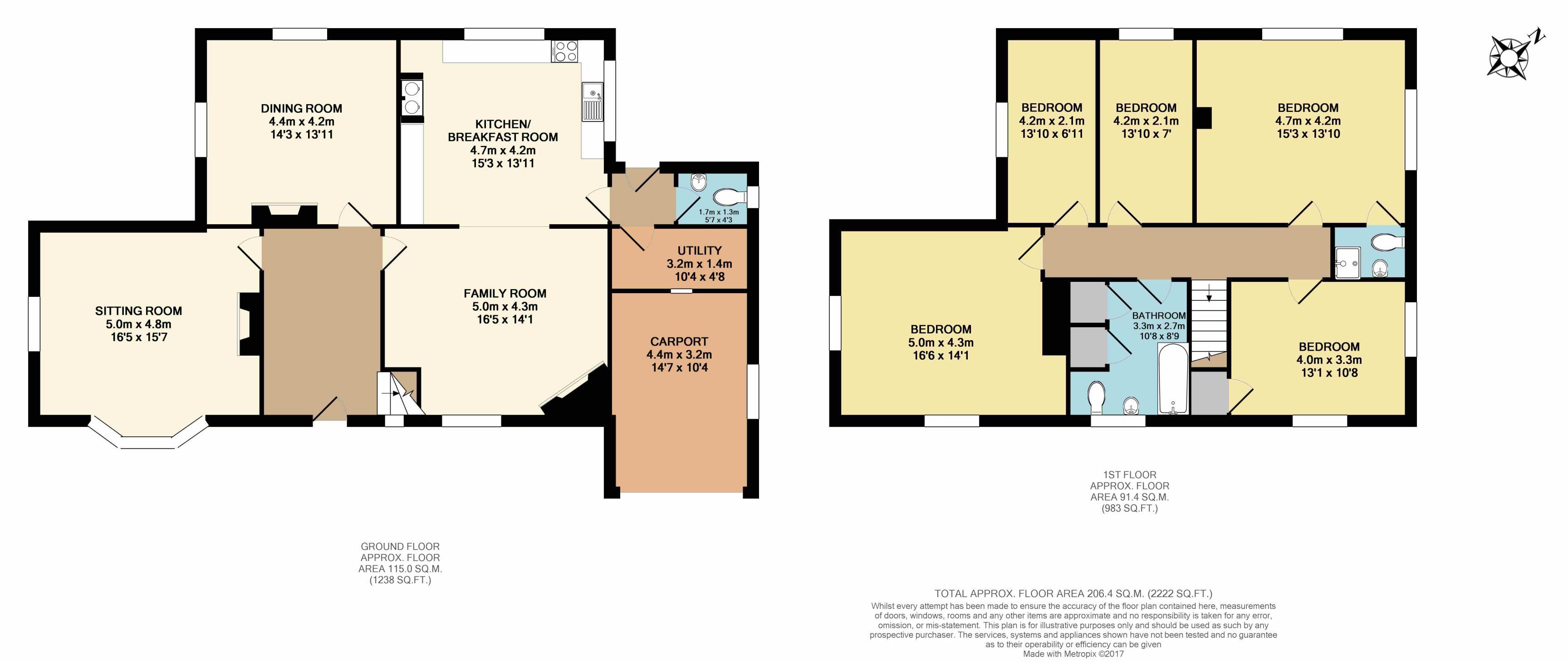 Braydon swindon sn5 5 bedroom detached house for sale for Trademark quality homes floor plans