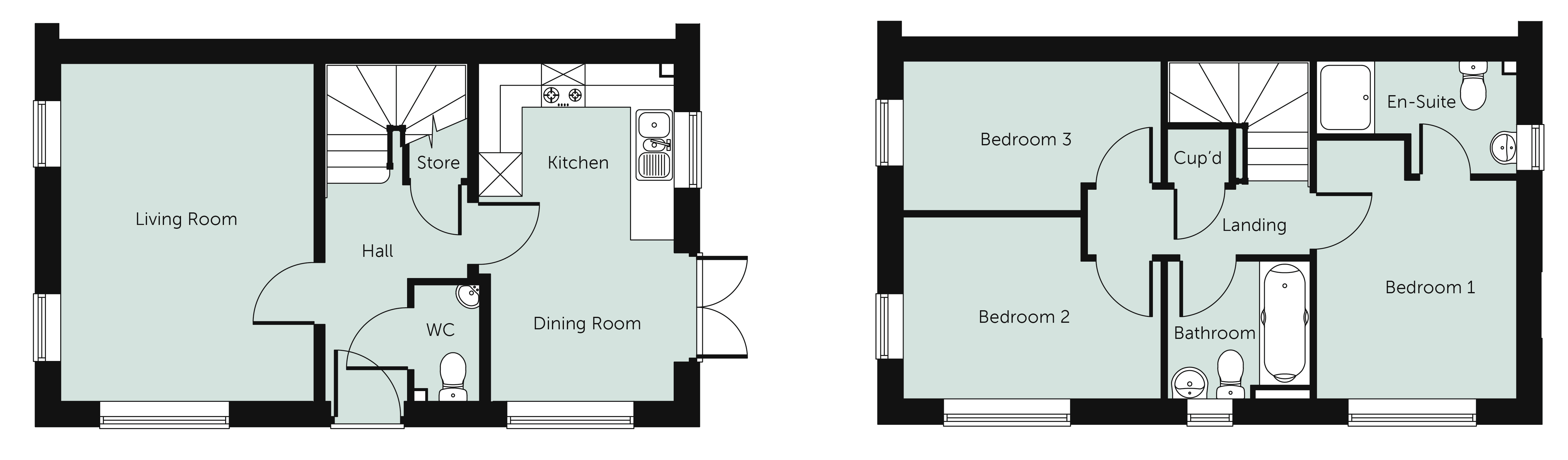 3 Bedroom Semi Detached House For Sale In Haslucks Green Road