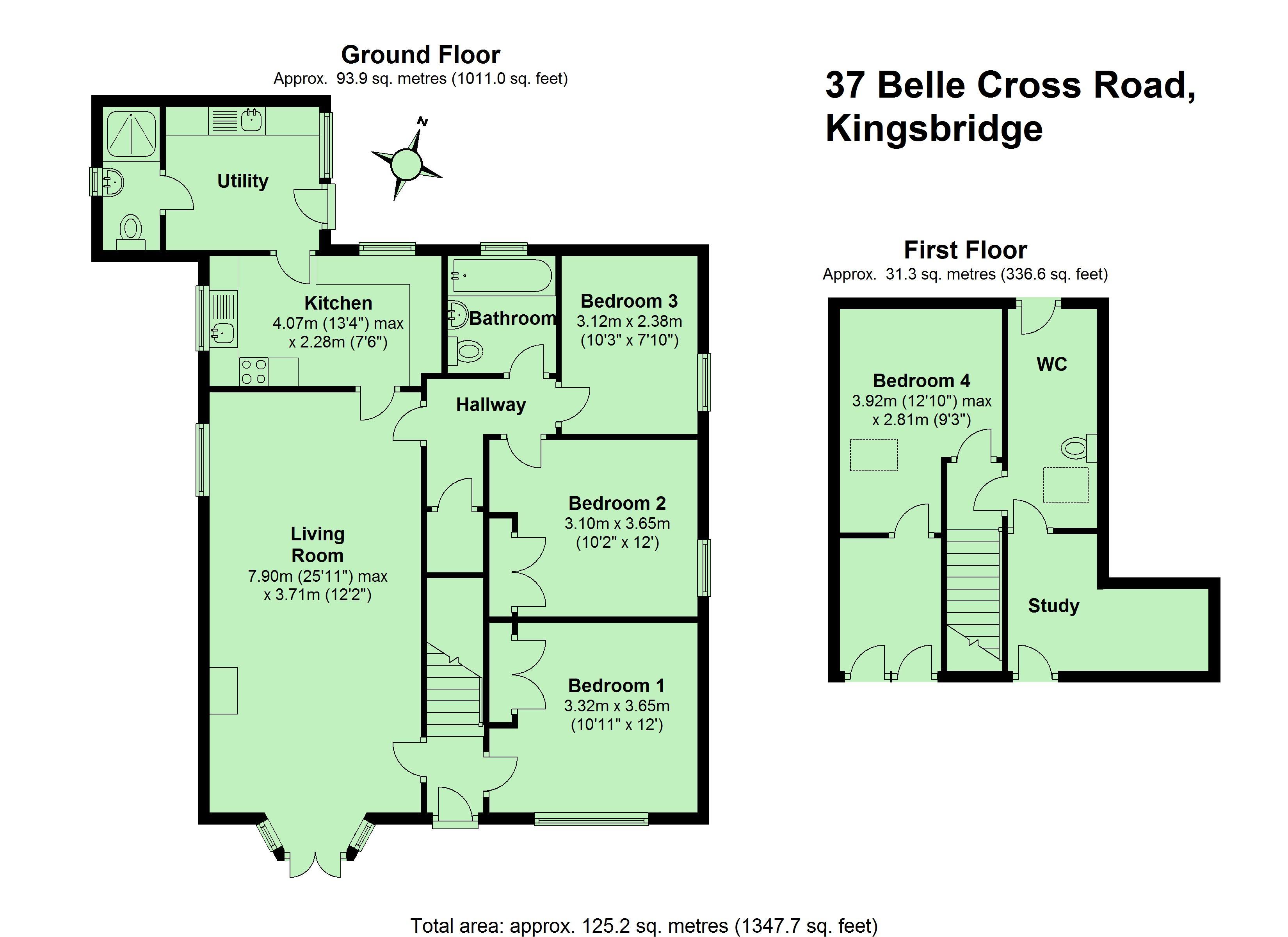 Belle Cross Road Kingsbridge Tq7 4 Bedroom Detached
