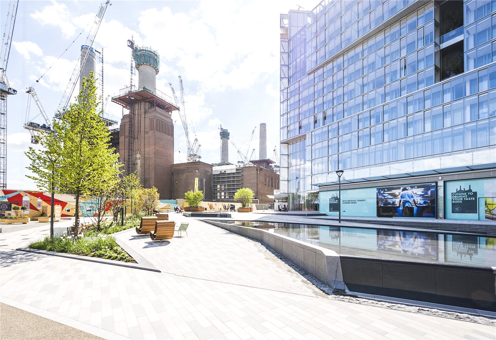 2 Bedroom Flat For Sale In Battersea Power Station Sw8 London
