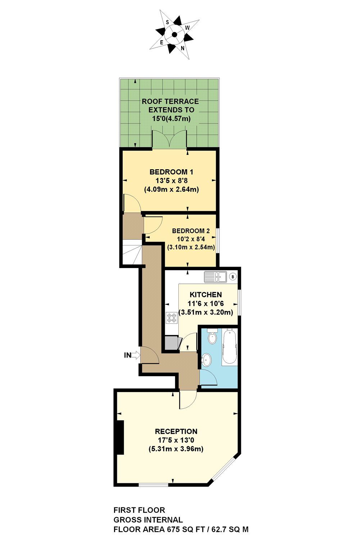 2 Bedrooms Flat for sale in Brecknock Road, London N7