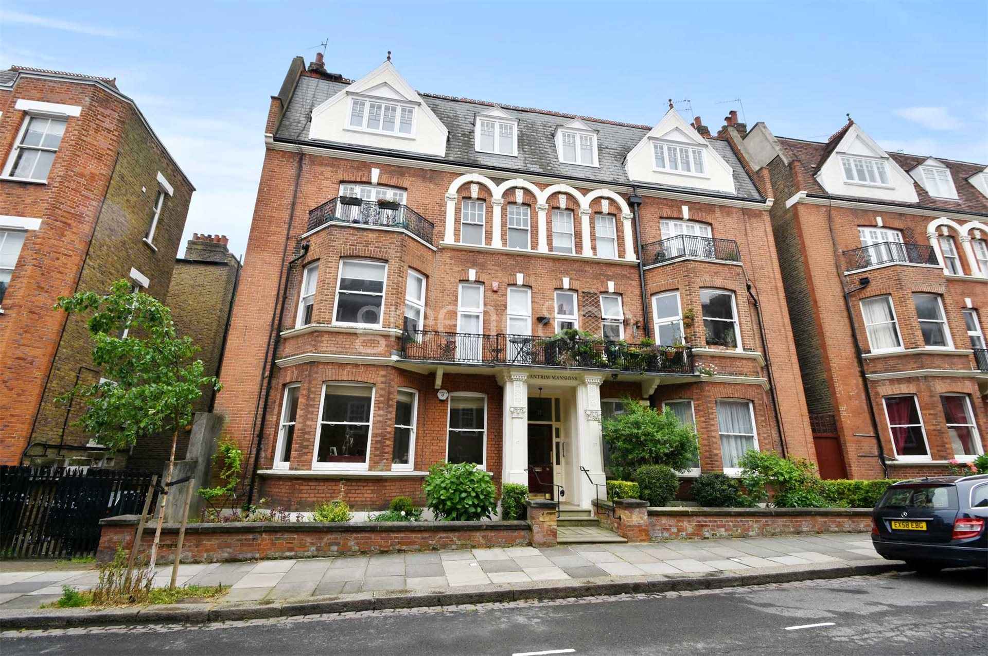 2 bedroom flat for sale in antrim mansions antrim road for Mansion houses for sale in london