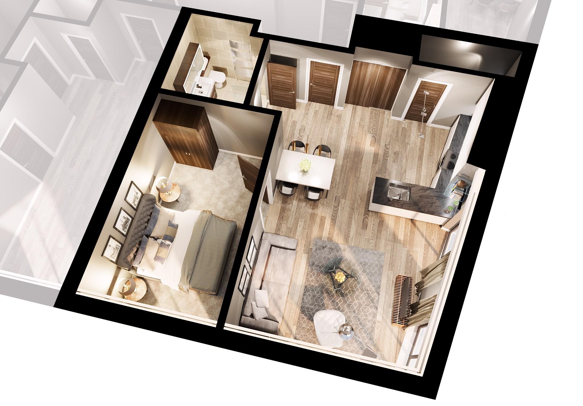 1 Bedrooms Flat for sale in 272 Leeds Street, Liverpool L3