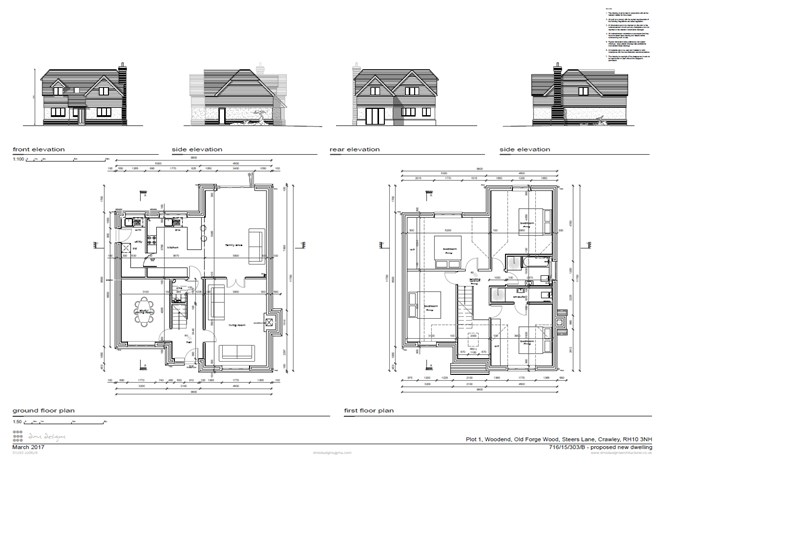 Forge Wood Crawley RH10 4 bedroom detached house for sale – Forge Wood Site Plan