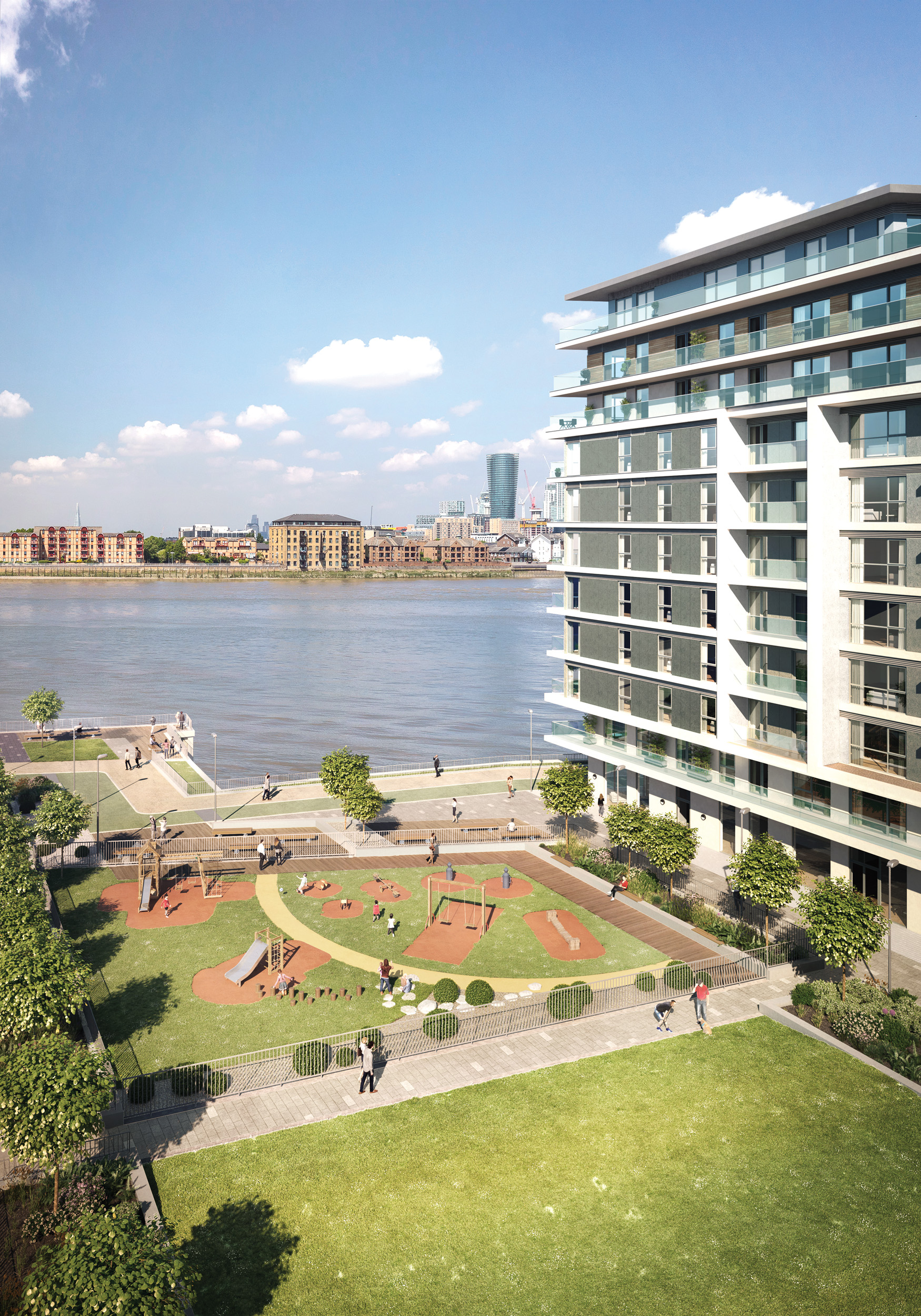 Bellway Homes,River Gardens,View