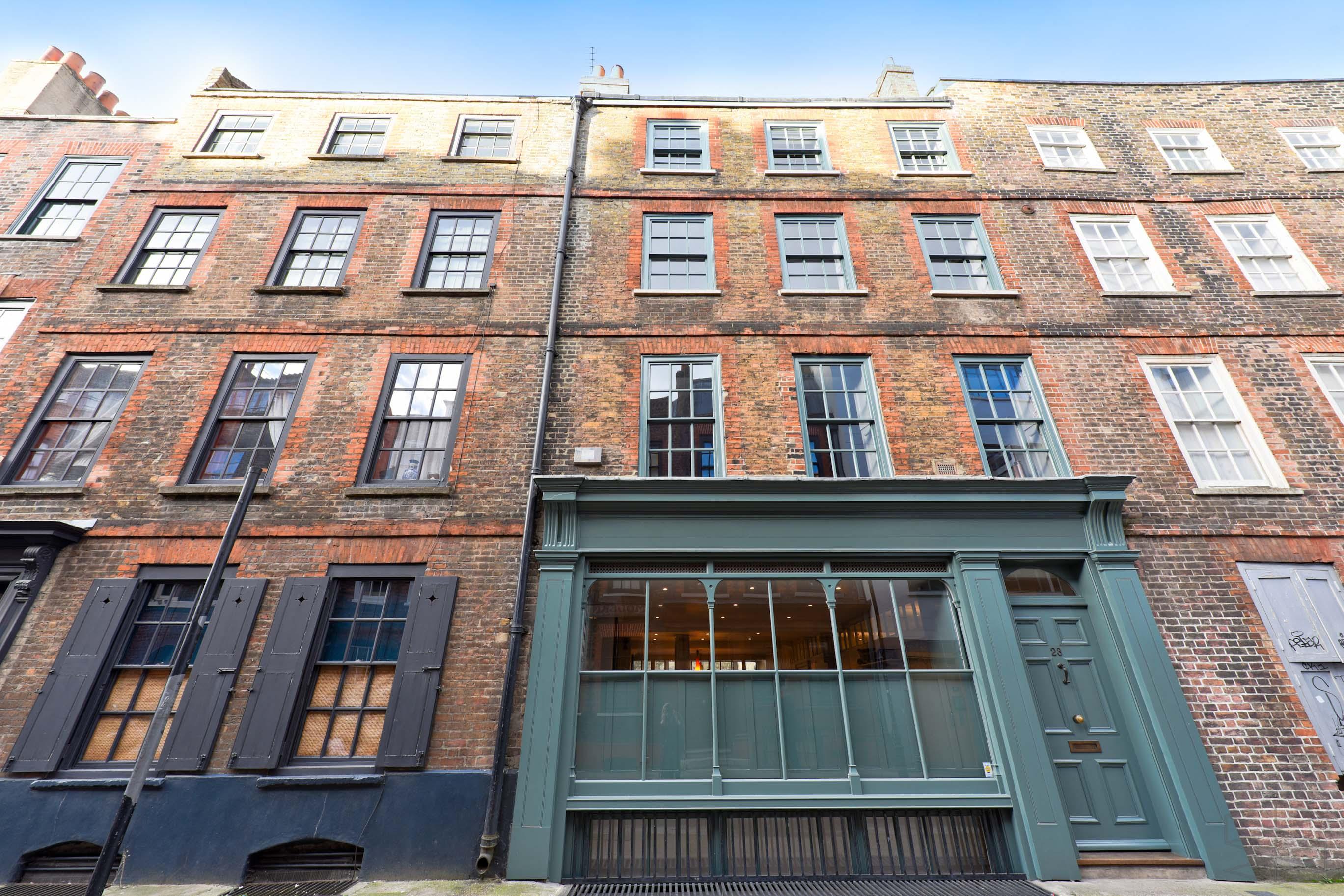 Properties For Sale Spitalfields