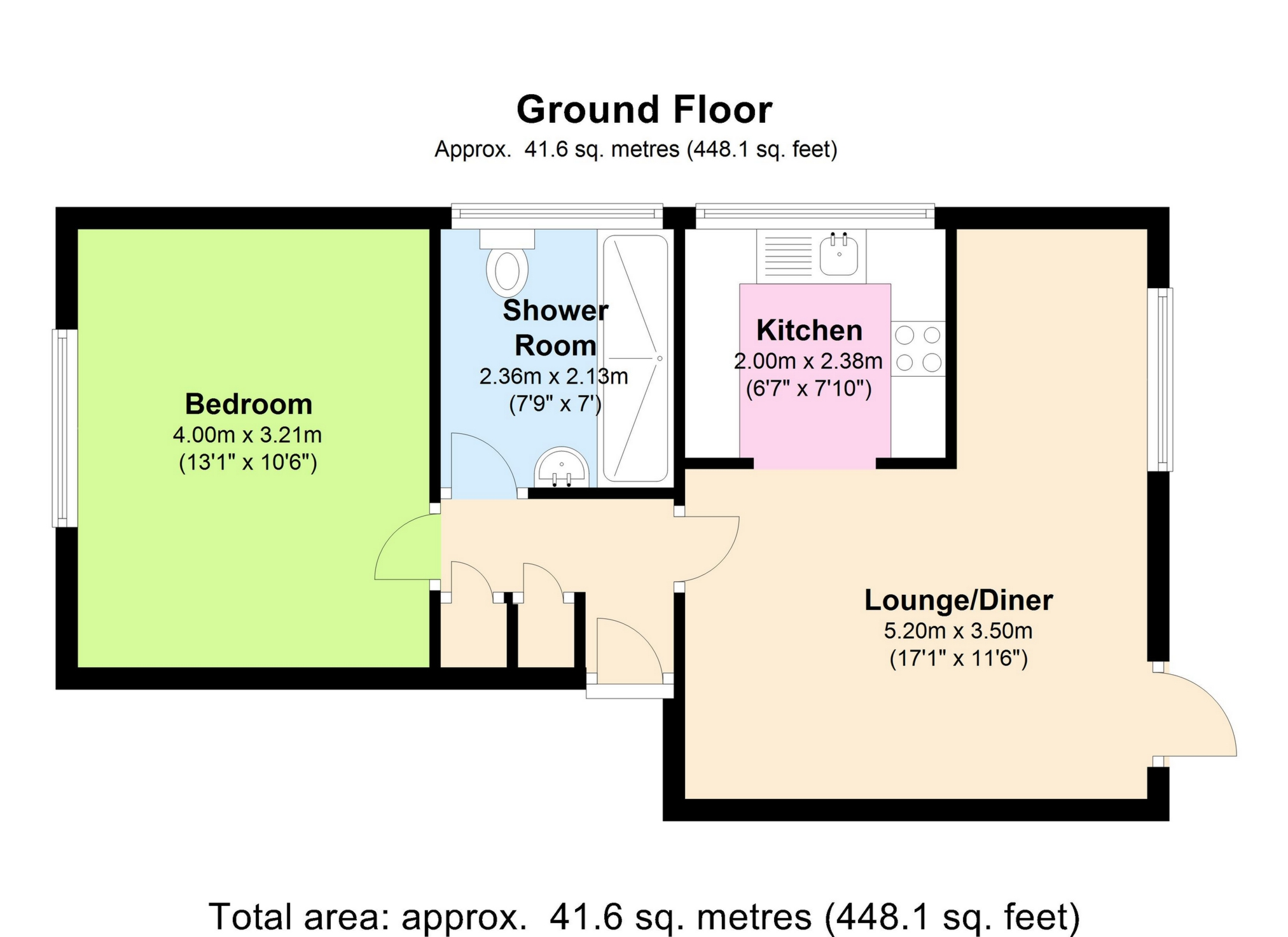 1 bed flat for sale in maxwell place gladstone road ct14 for 15 dunham place floor plans