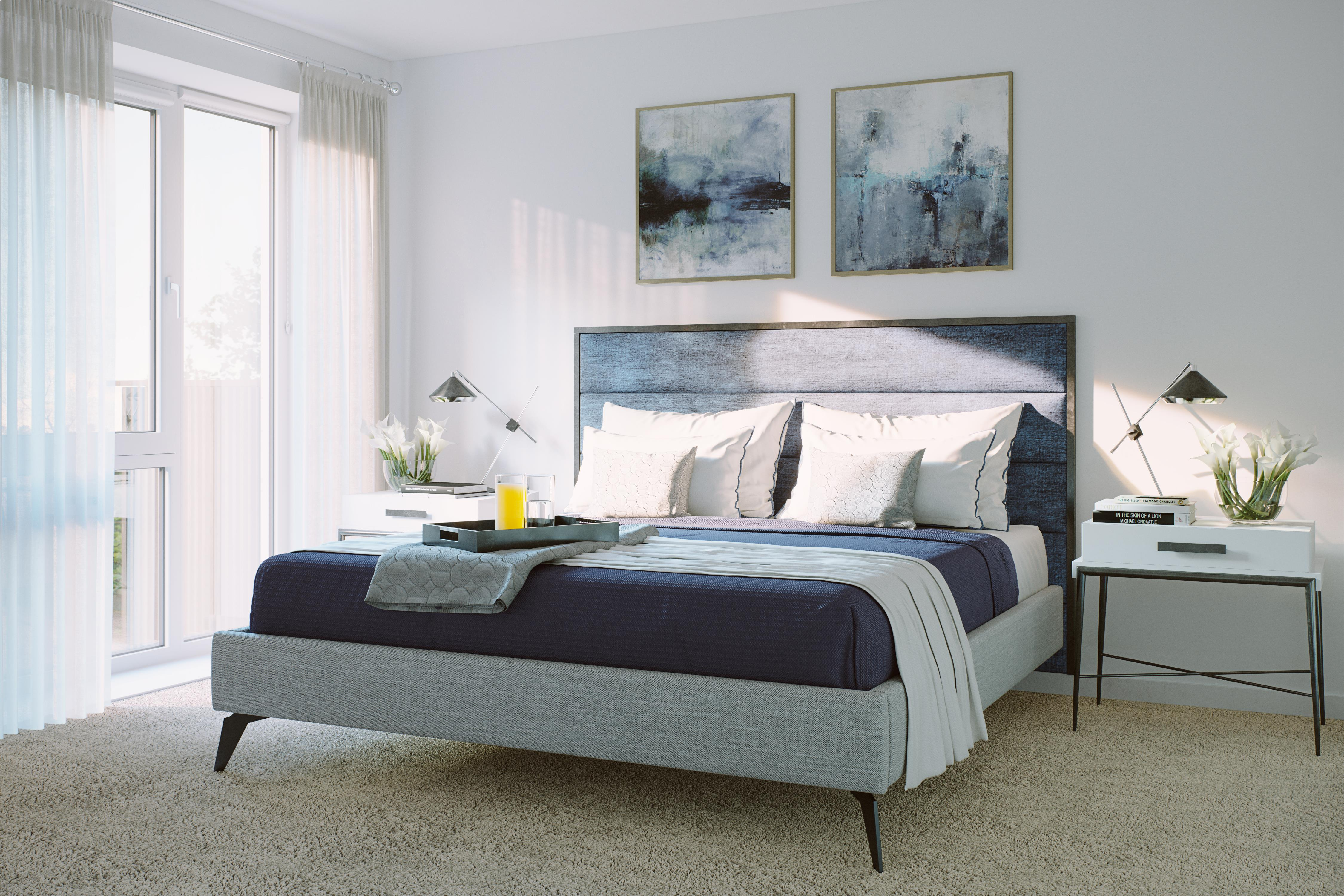 Southern Housing,The Featherstone,Southern Space,Master Bedroom