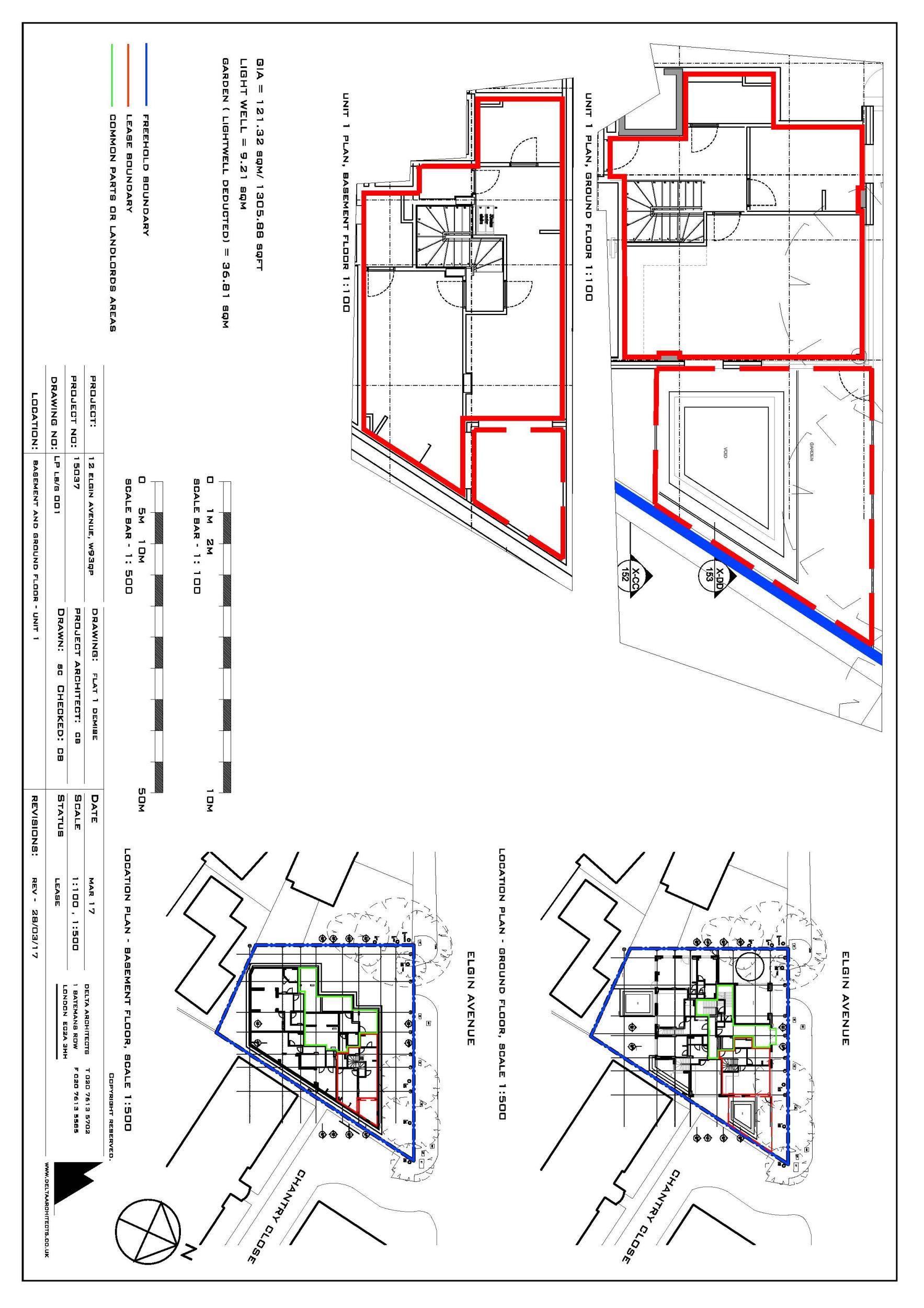 Elgin Avenue Maida Vale London W9 3 Bedroom Flat For