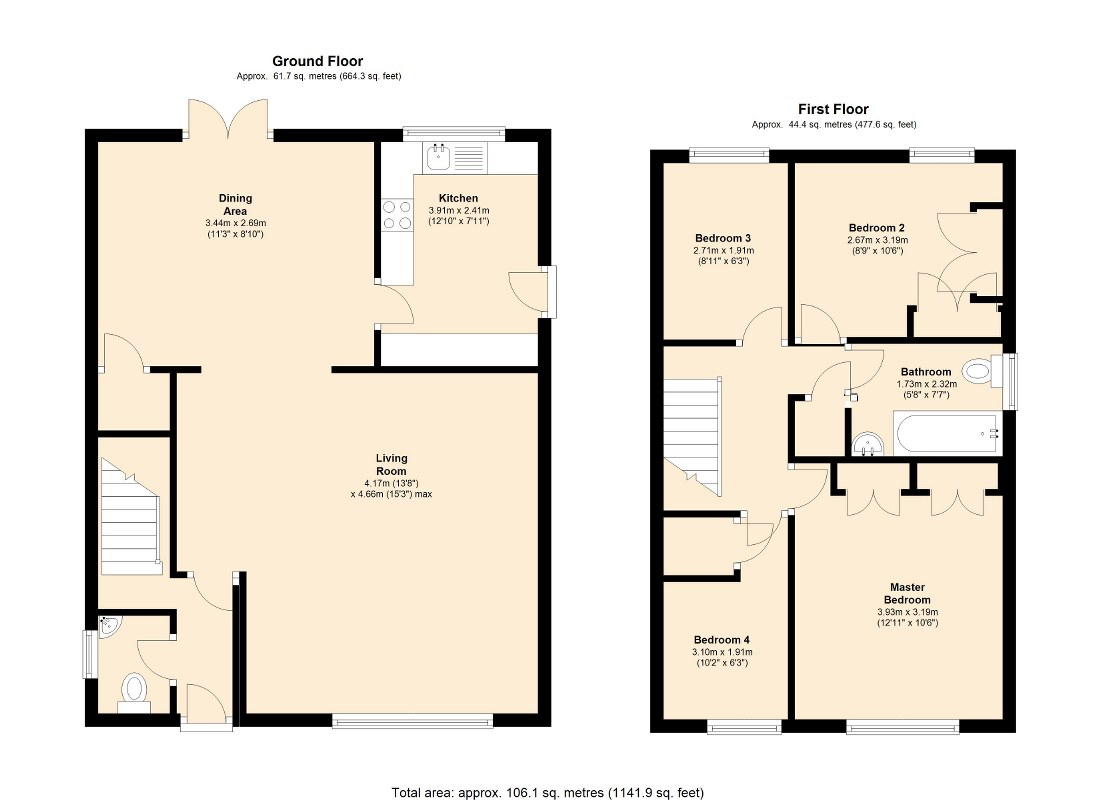 4 Bed Detached House For Sale In Parlington Meadow