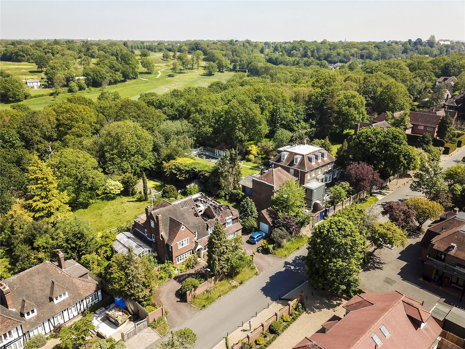 7 Bedroom Detached House For Sale In Drax Avenue Wimbledon London Sw20
