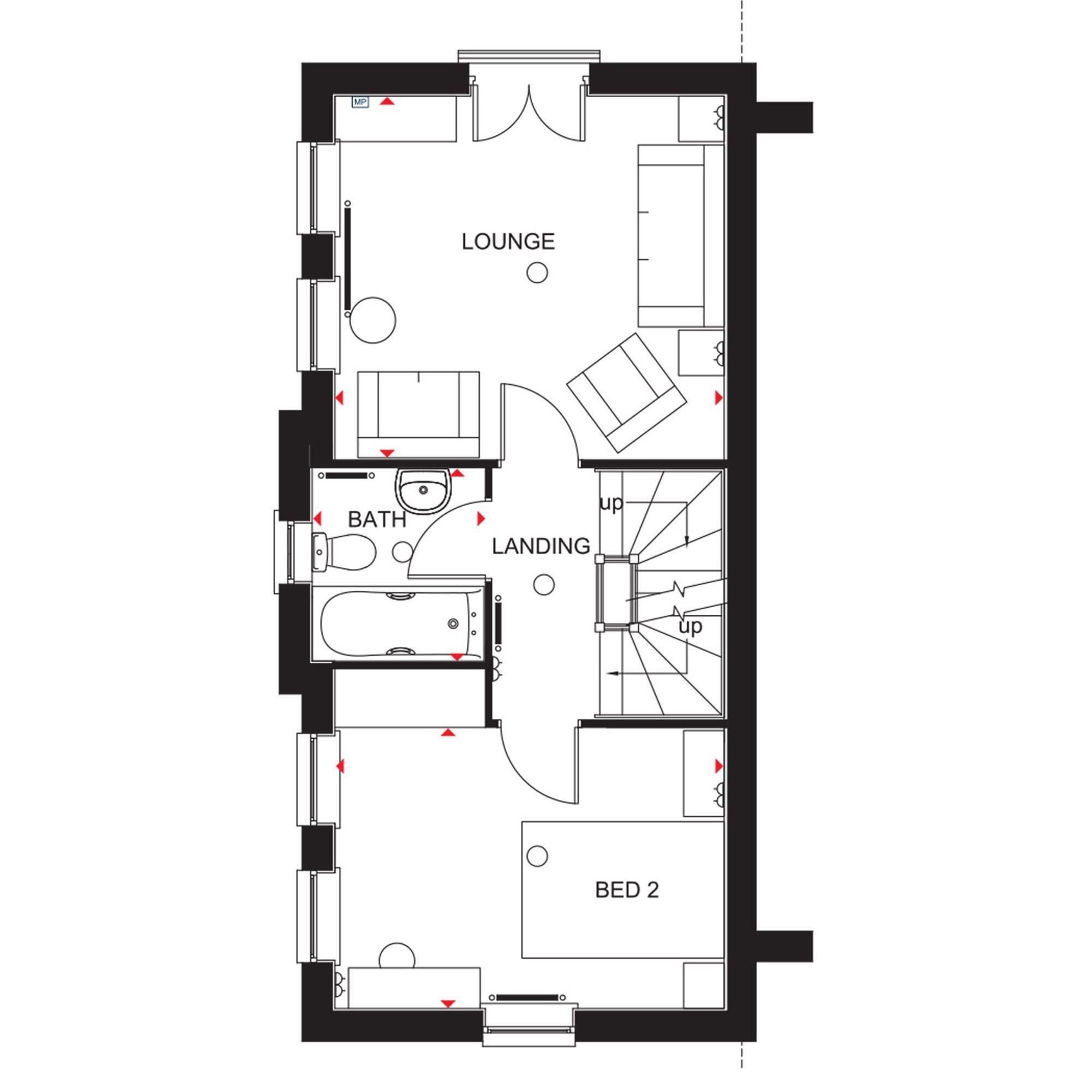 249 995 3 bedroom end terrace house for sale in waverley for 3 waverley terrace rathgar