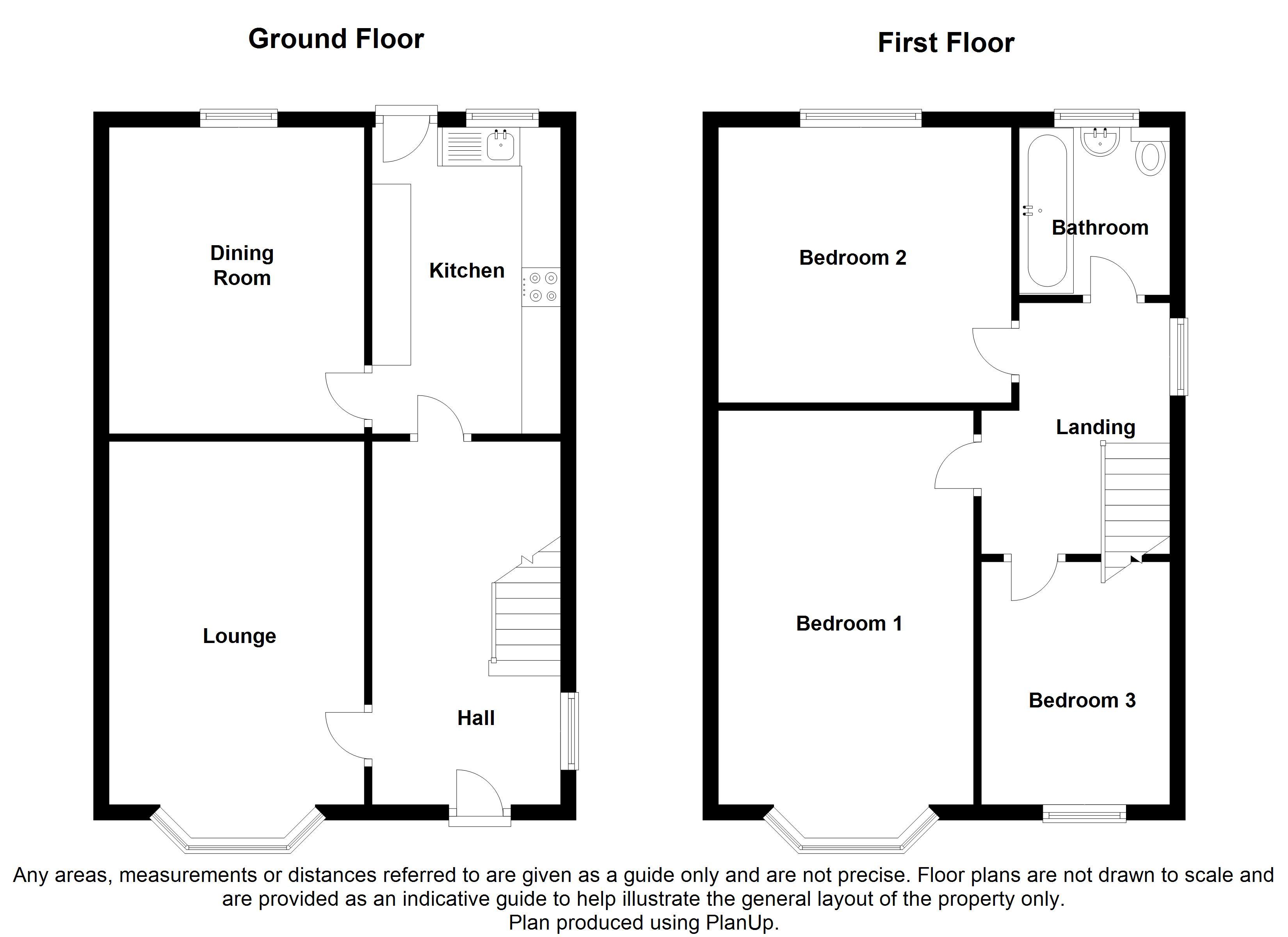 Old retford road handsworth sheffield s13 3 bedroom for Ron lee homes floor plans