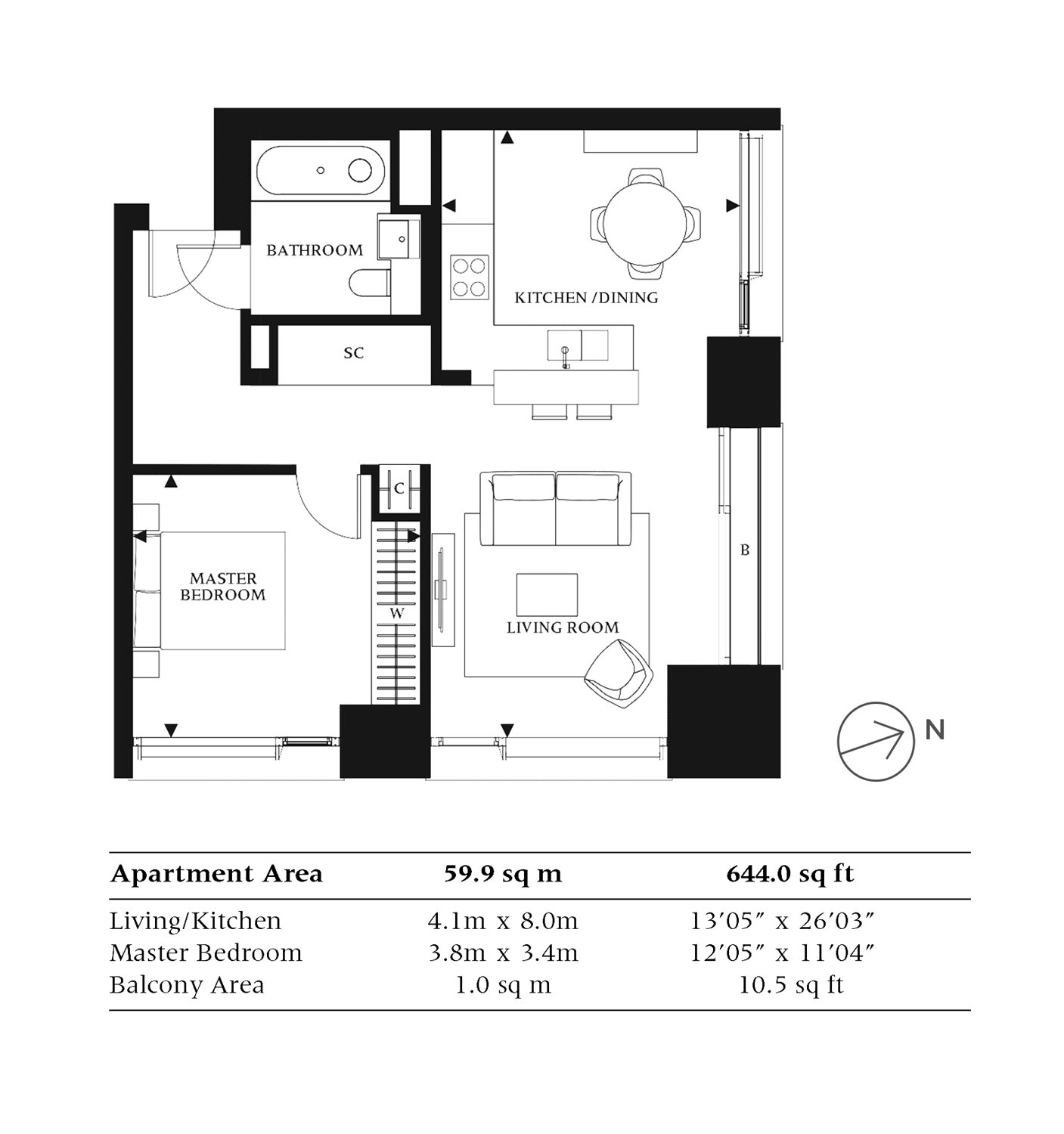 1 Bedrooms  for sale in One Casson Square, Southbank Place SE1