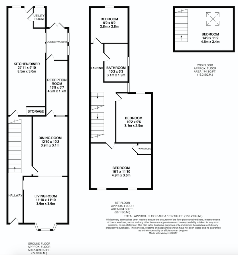 Tennyson Road Kettering NN16 4 bedroom end terrace house  : a3351932c512e73f3f47d08beee2bd6da82033bc from www.primelocation.com size 835 x 893 png 219kB