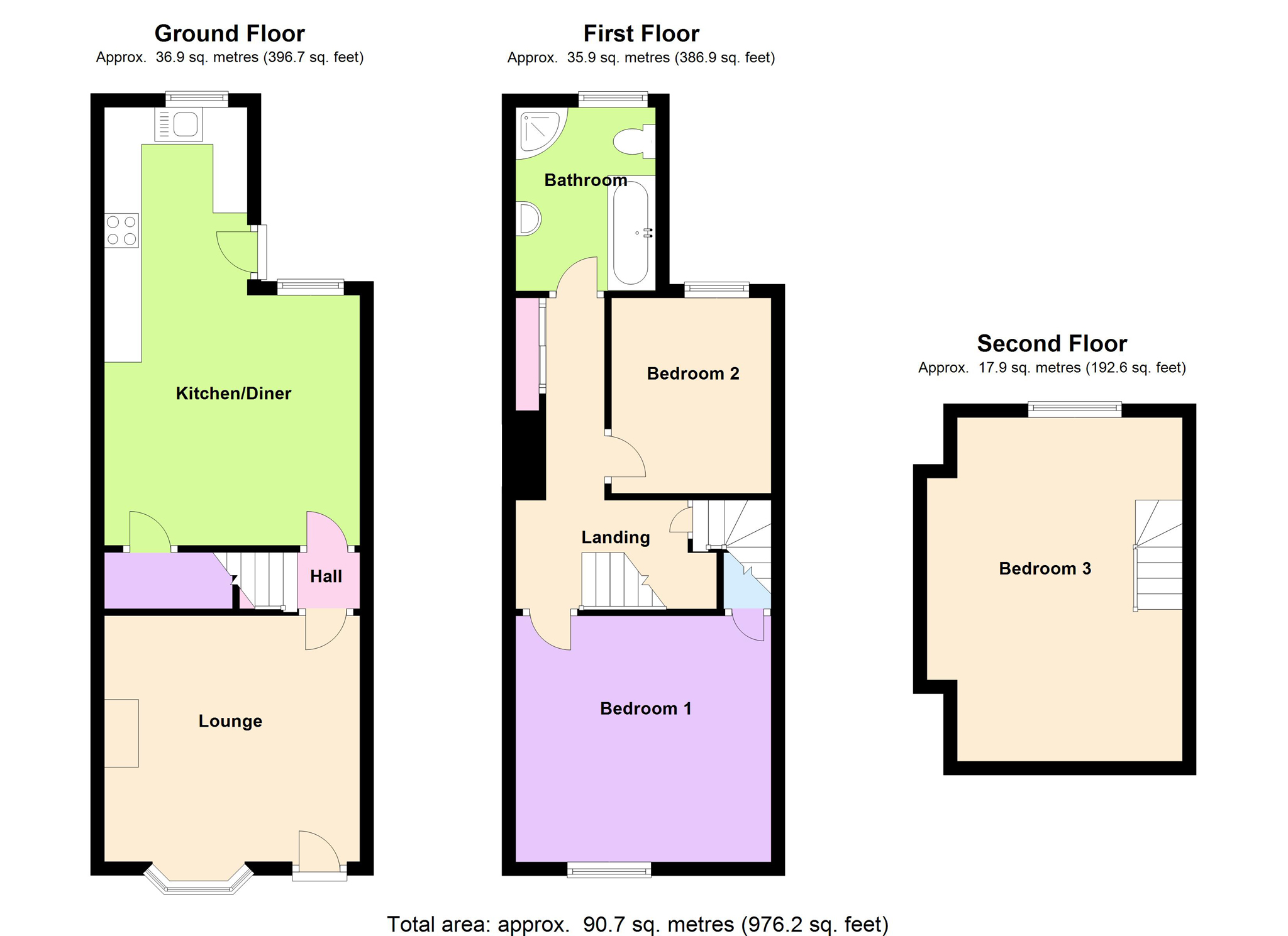 3 Bed Terraced House For Sale In 36 Lennox Road