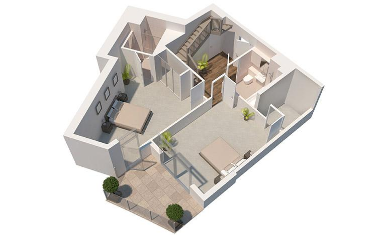 New Home 2 Bed Flat For Sale In The Panorama Park Street